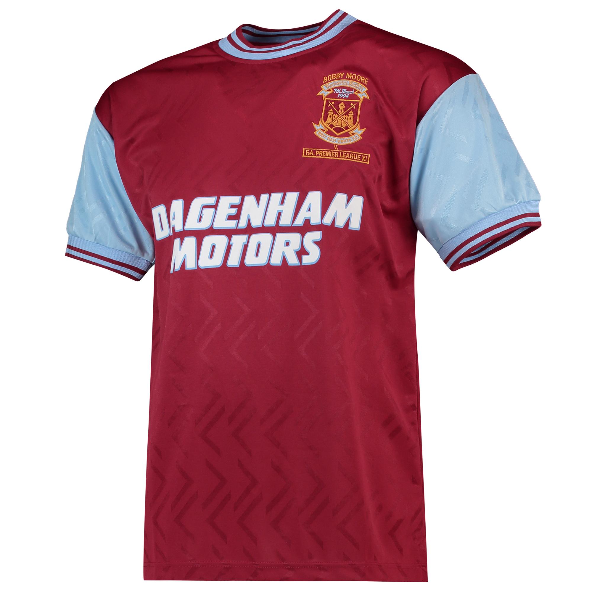 Camiseta West Ham Utd 1994