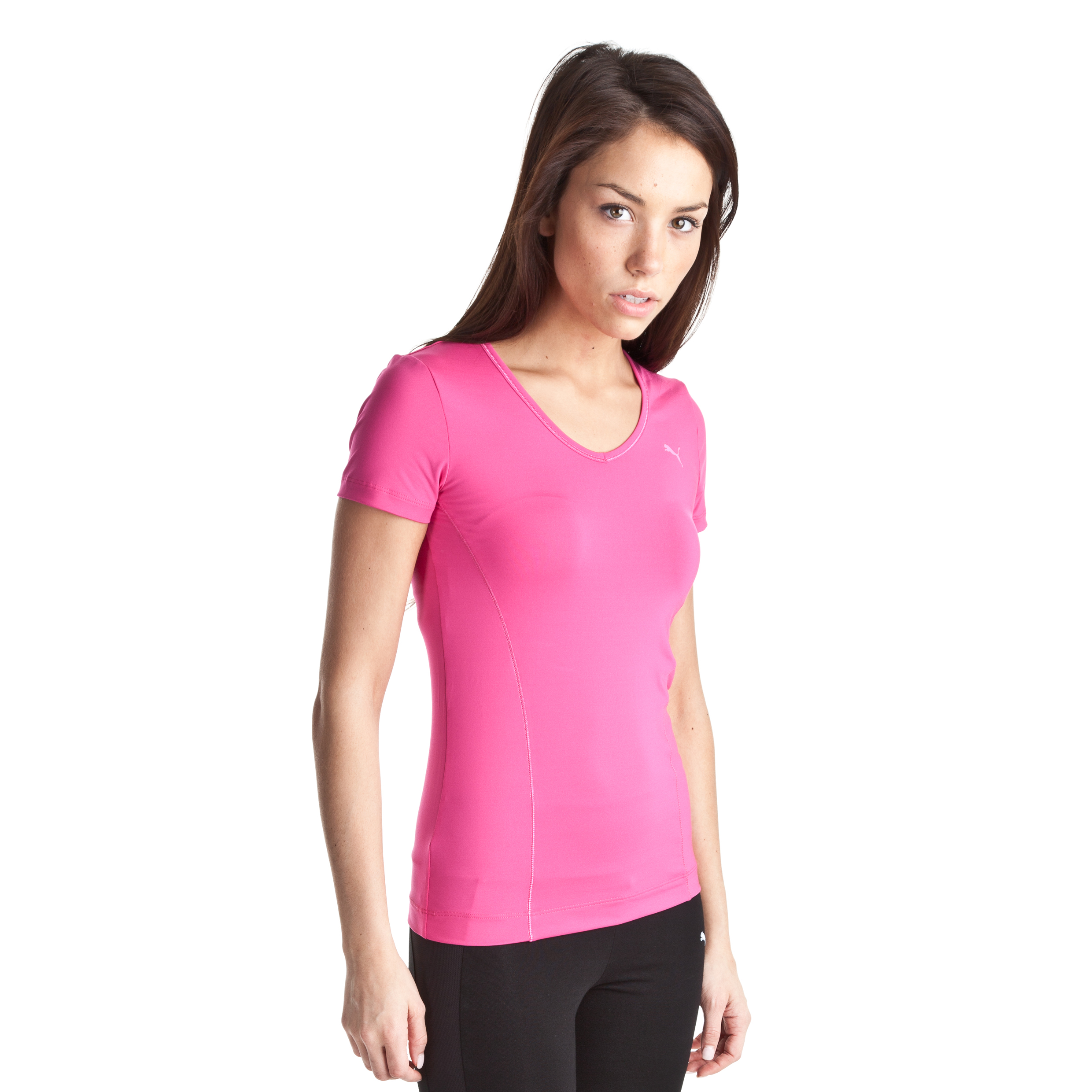 Puma Essential Gym Tee -  Cabaret - Womens
