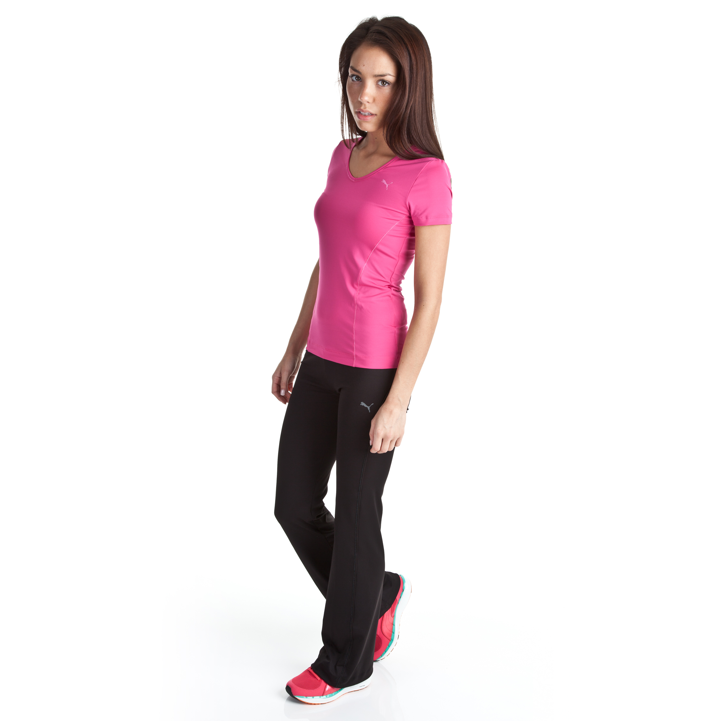 Puma Essential Gym Regular Pants - Black - Womens