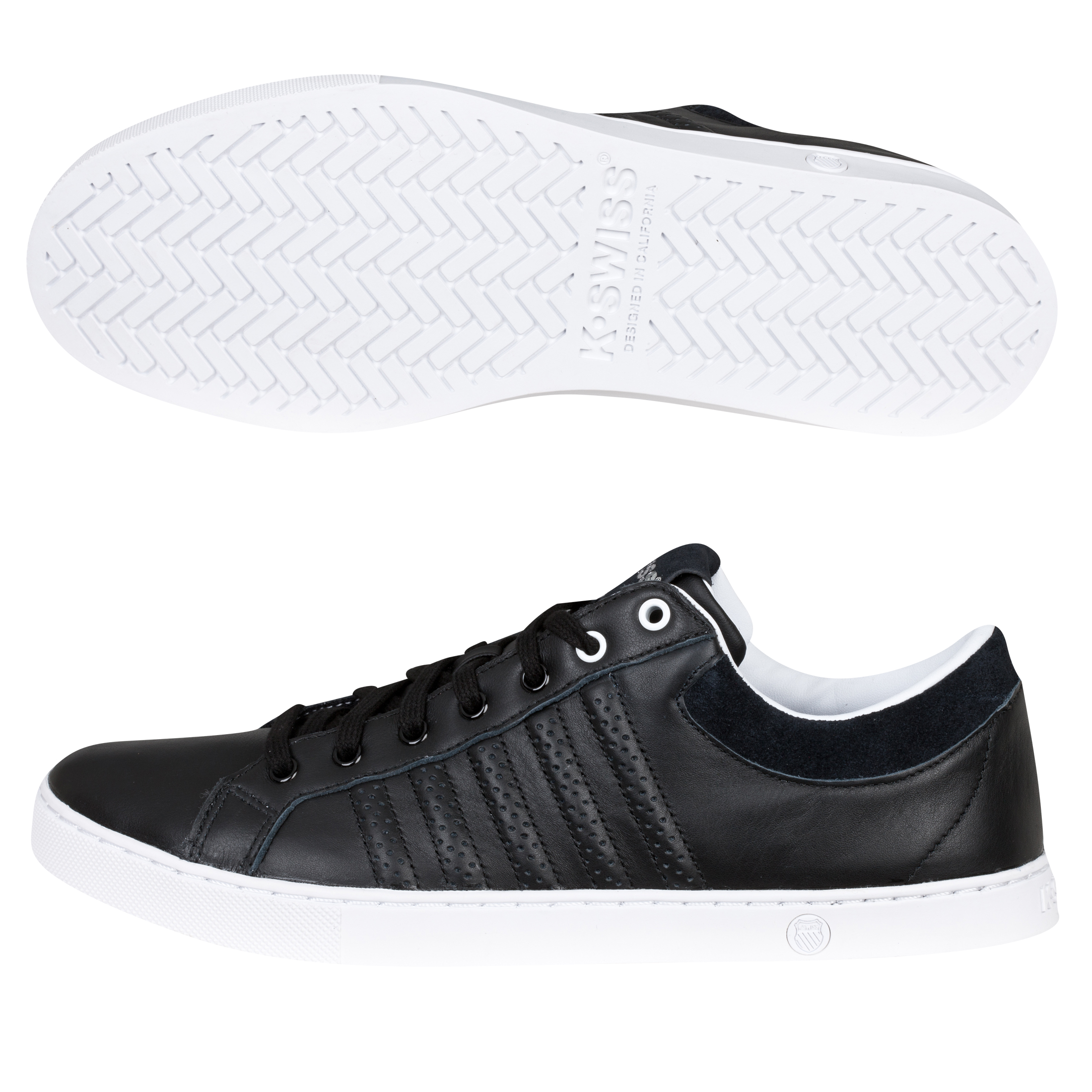 K Swiss K-Swiss Adcourt 72 Trainers - Black/White