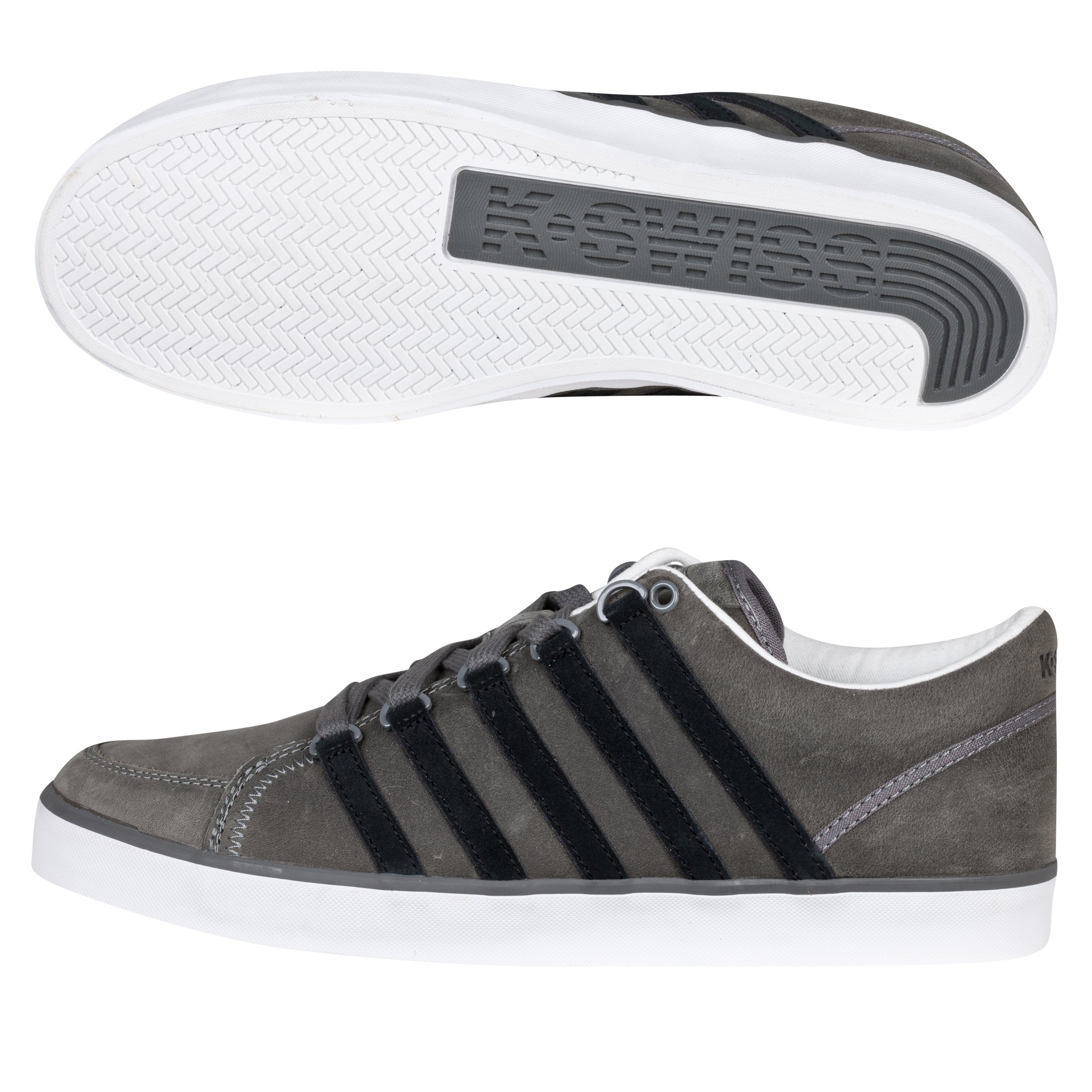 K Swiss K-Swiss Gowmet II P VNZ Trainers - Charcoal/Black/White