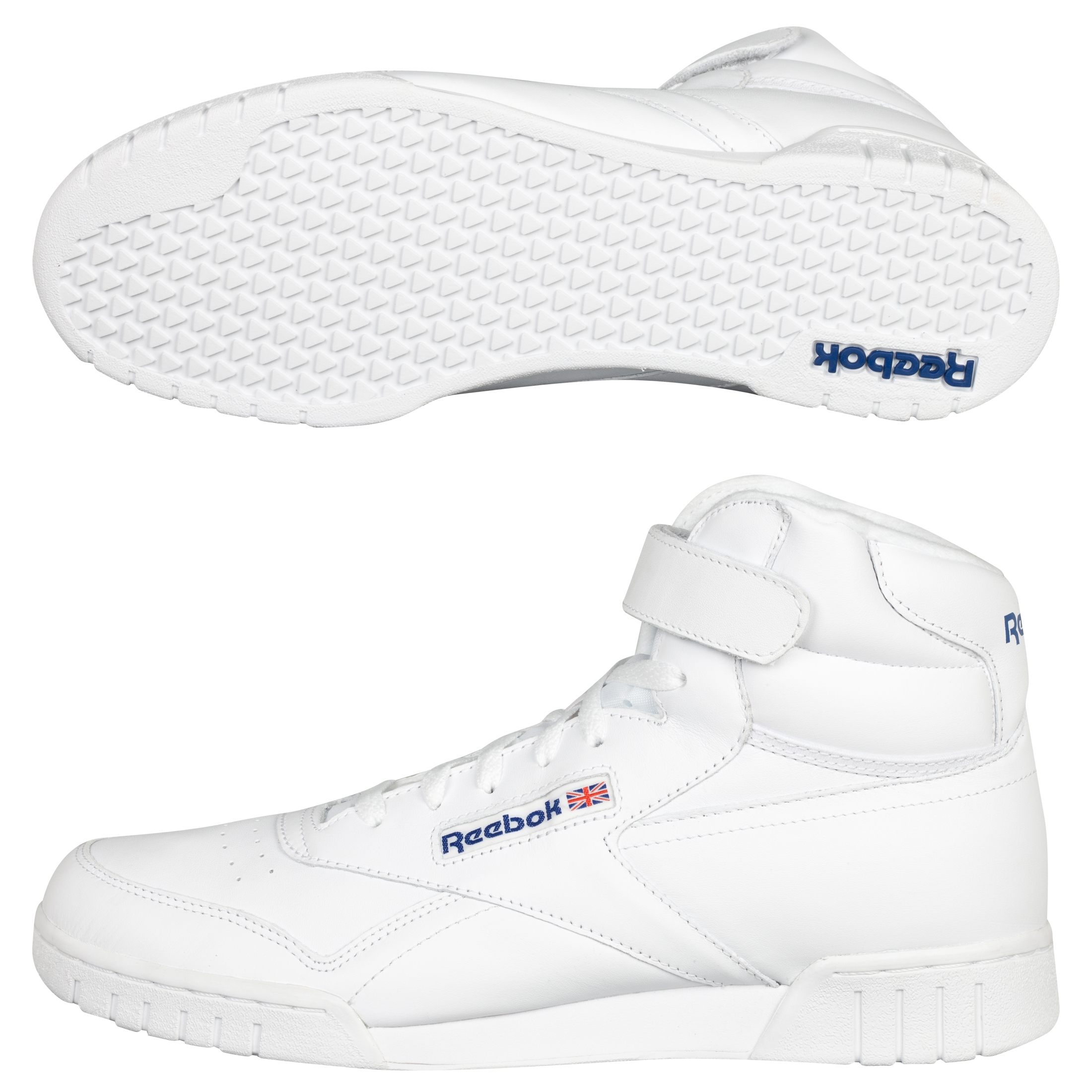 Reebok Ex-fit Hi Clean Logo Int Trainers - White