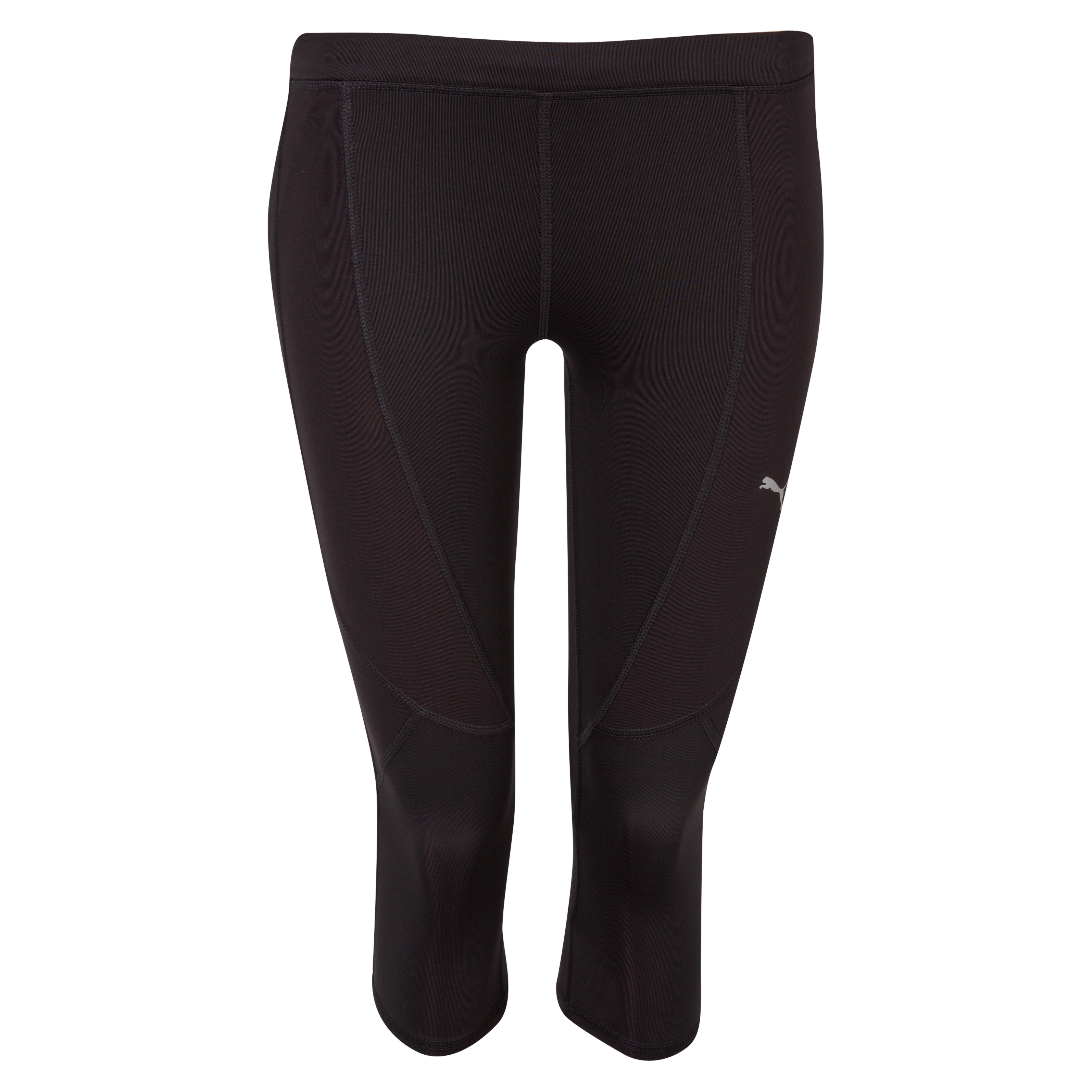 Puma Complete Running 3/4 Capri Tight - Black - Womens