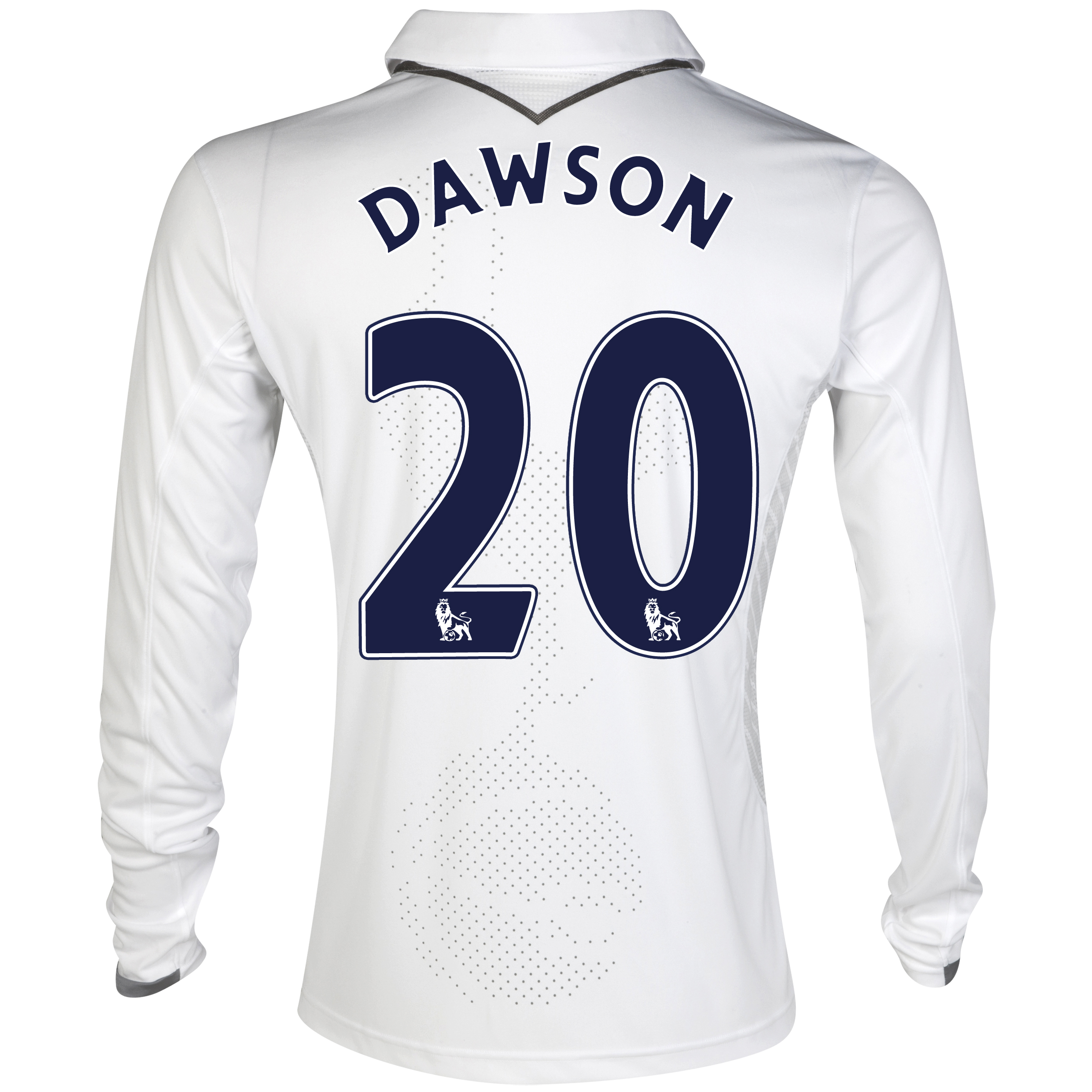 Tottenham Hotspur Home Shirt 2012/13 - Long Sleeve with Dawson 20 printing
