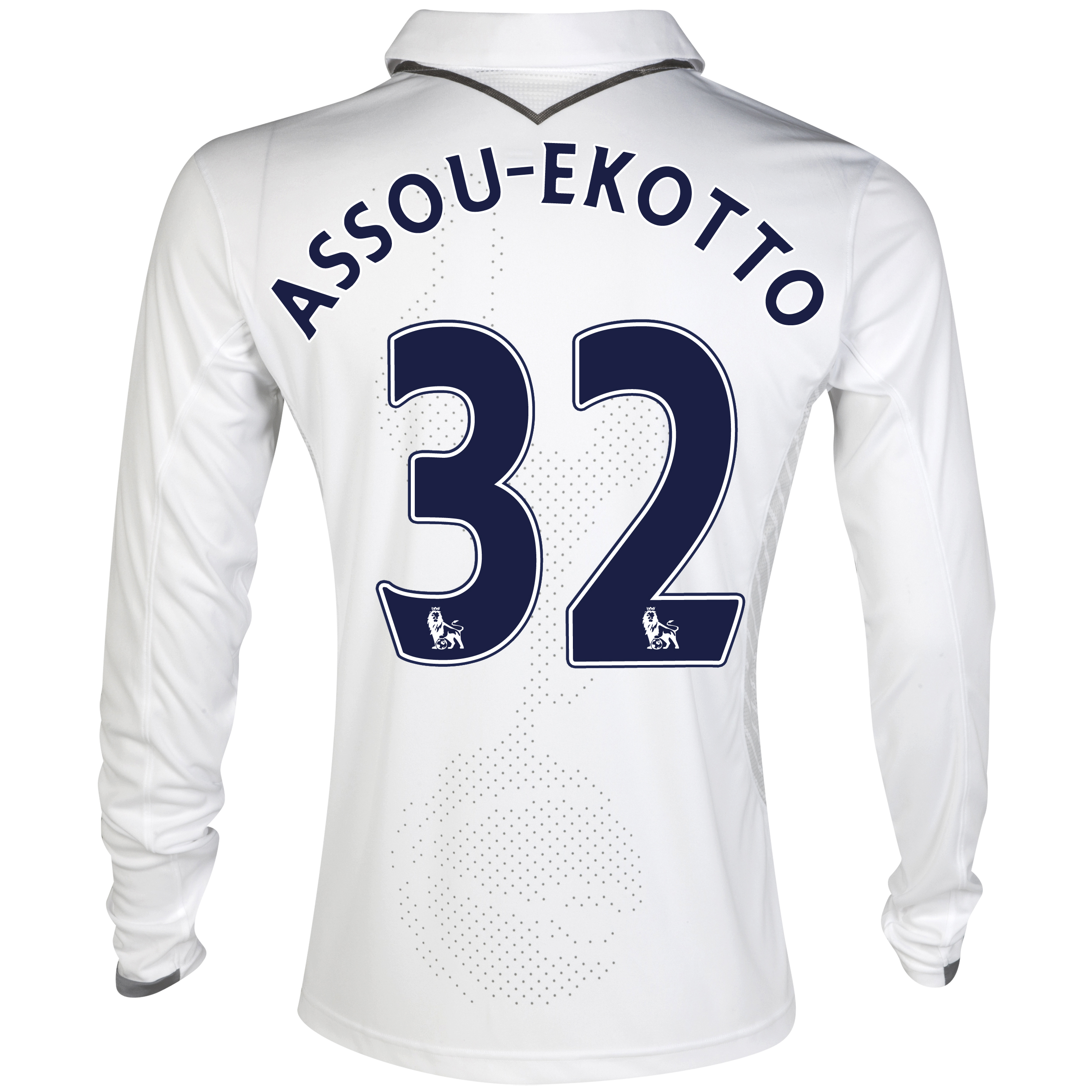 Tottenham Hotspur Home Shirt 2012/13 - Long Sleeve with Assou-Ekotto 32 printing