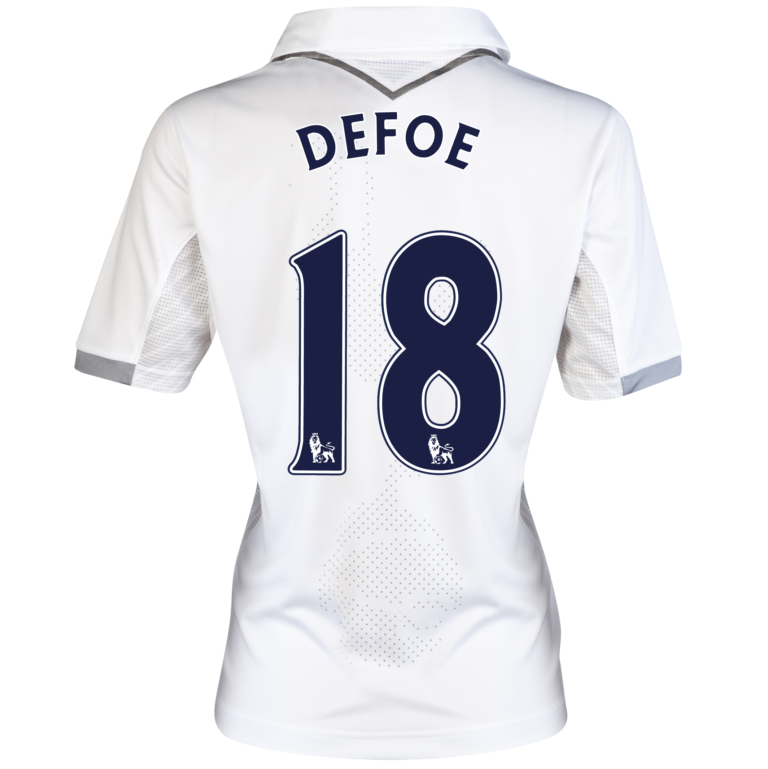 Tottenham Hotspur Home Shirt 2012/13 - Womens with Defoe 18 printing