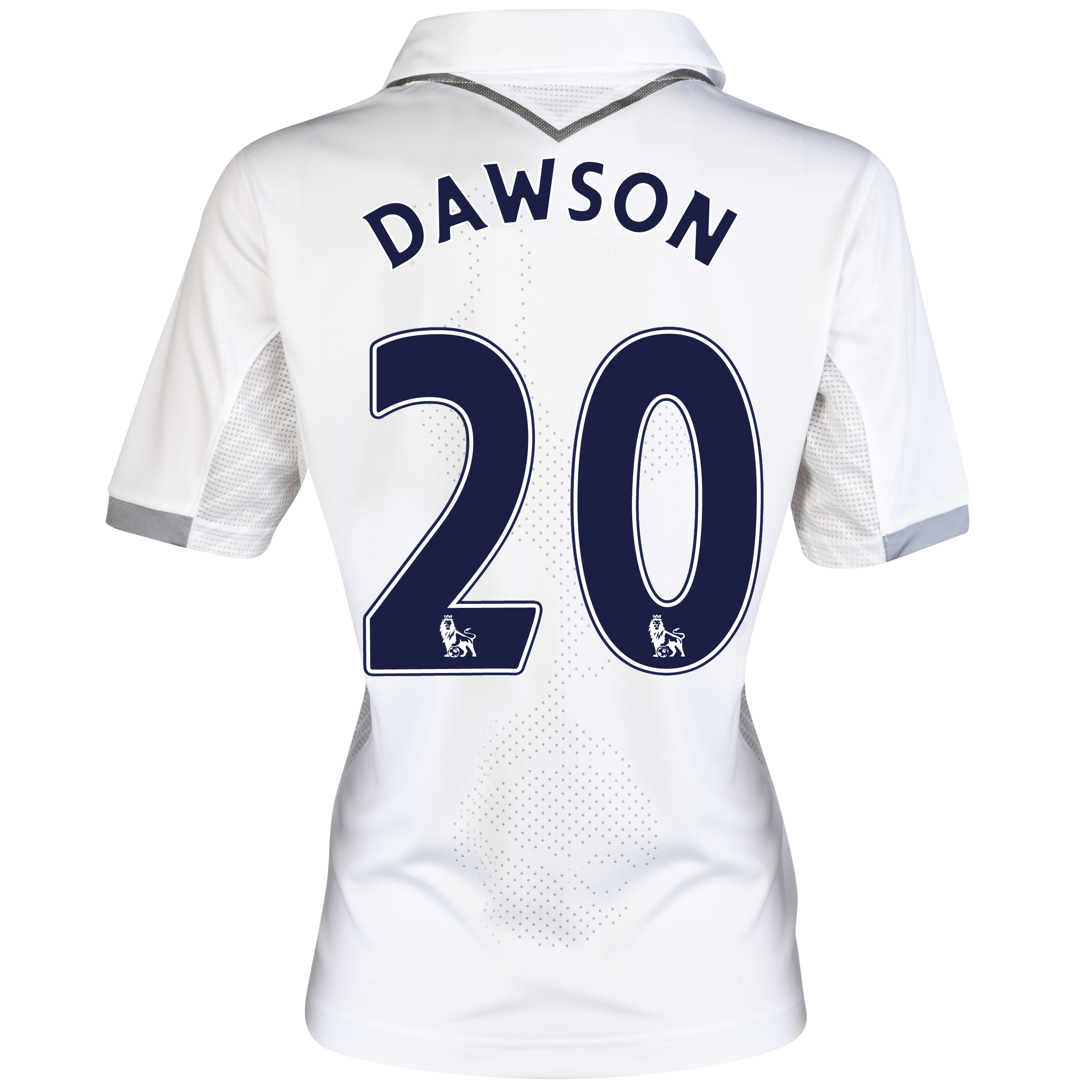Tottenham Hotspur Home Shirt 2012/13 - Womens with Dawson 20 printing