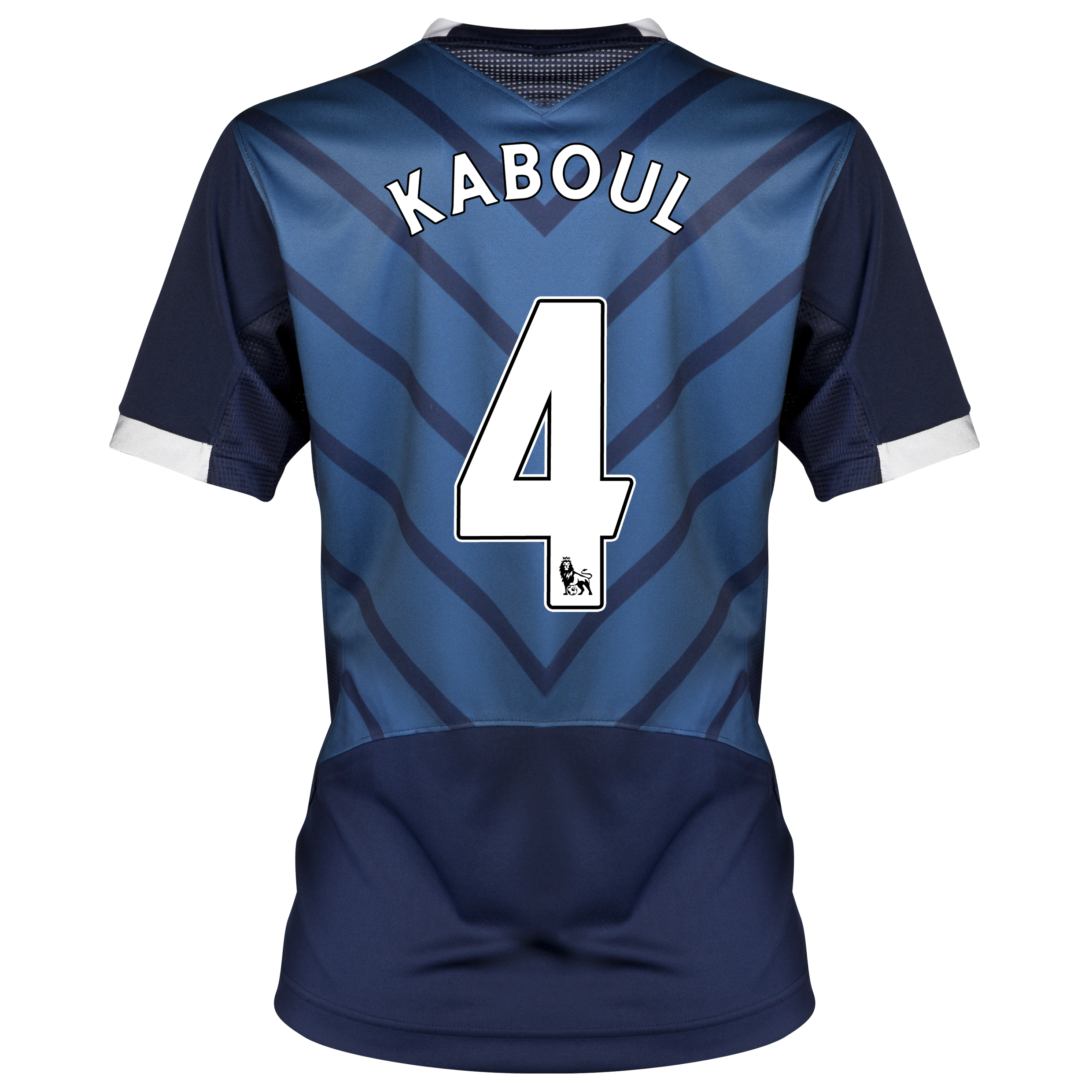 Tottenham Hotspur Away Shirt 2012/13 - Womens with Kaboul 4 printing