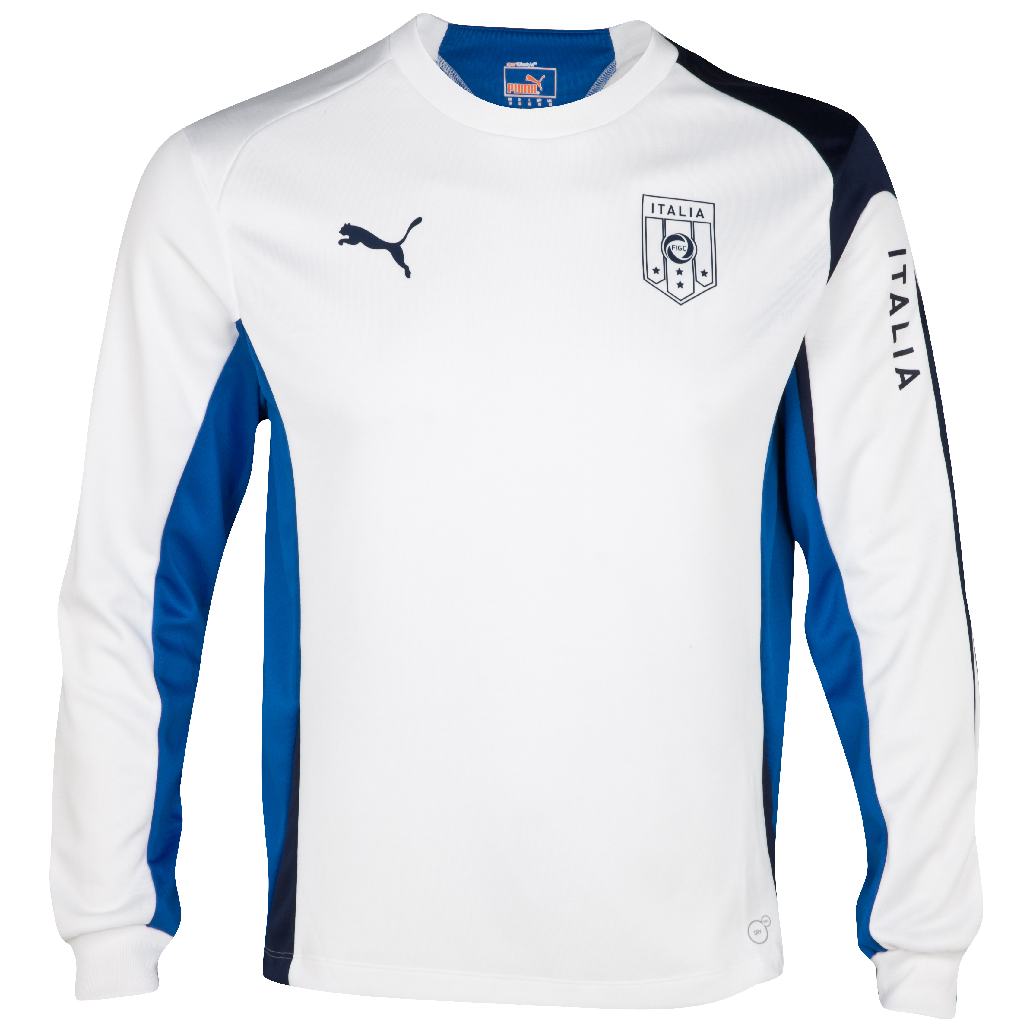 Puma Italy Training Sweatshirt - Navy/White