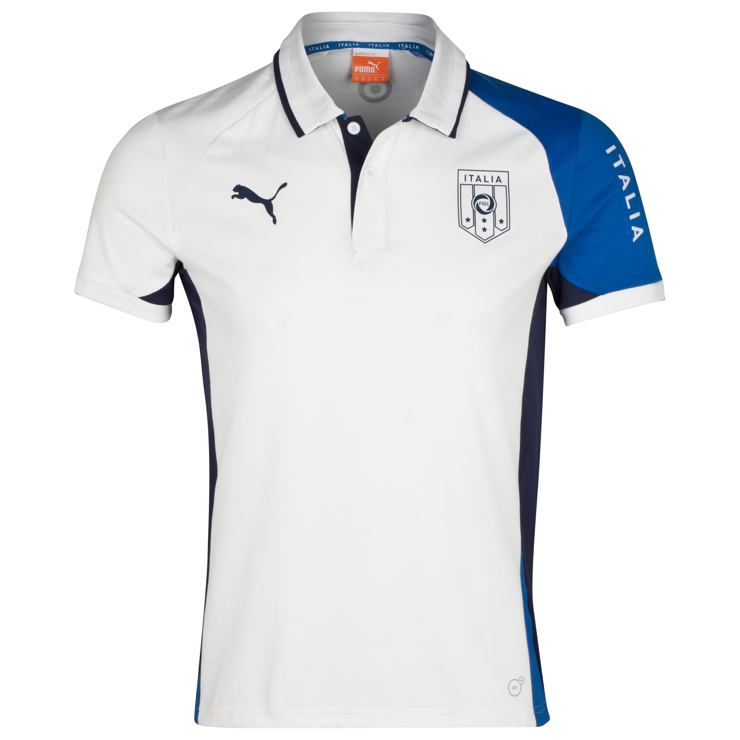 Puma Italy Polo - White/Navy