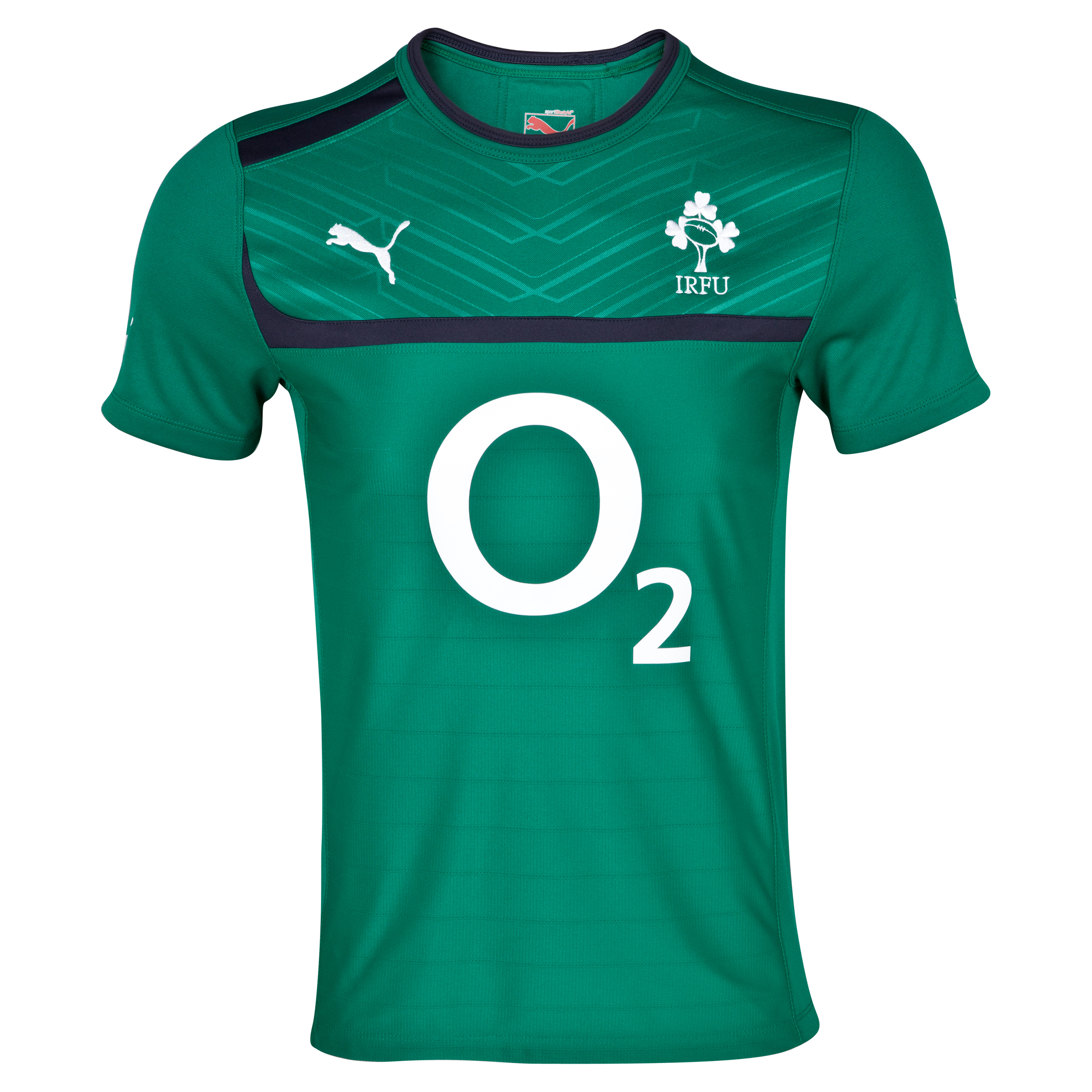 Ireland Rugby Training Shirt - Power Green/New Navy