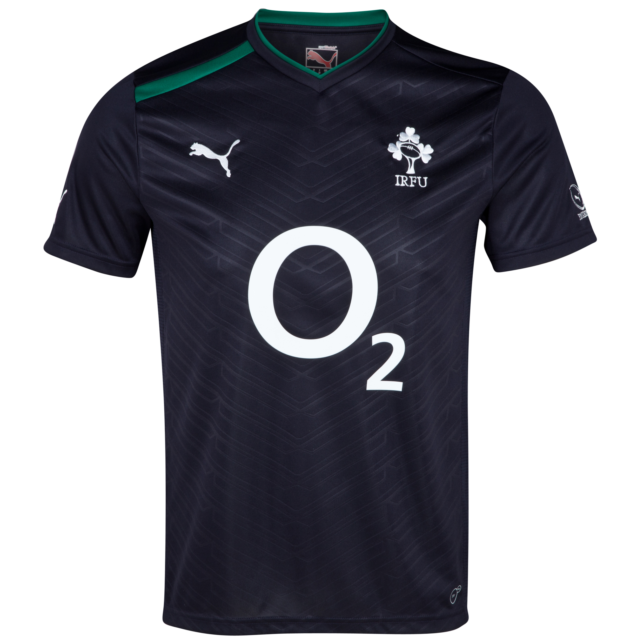 Ireland Rugby Workout Shirt - New Navy/Powder Green/White
