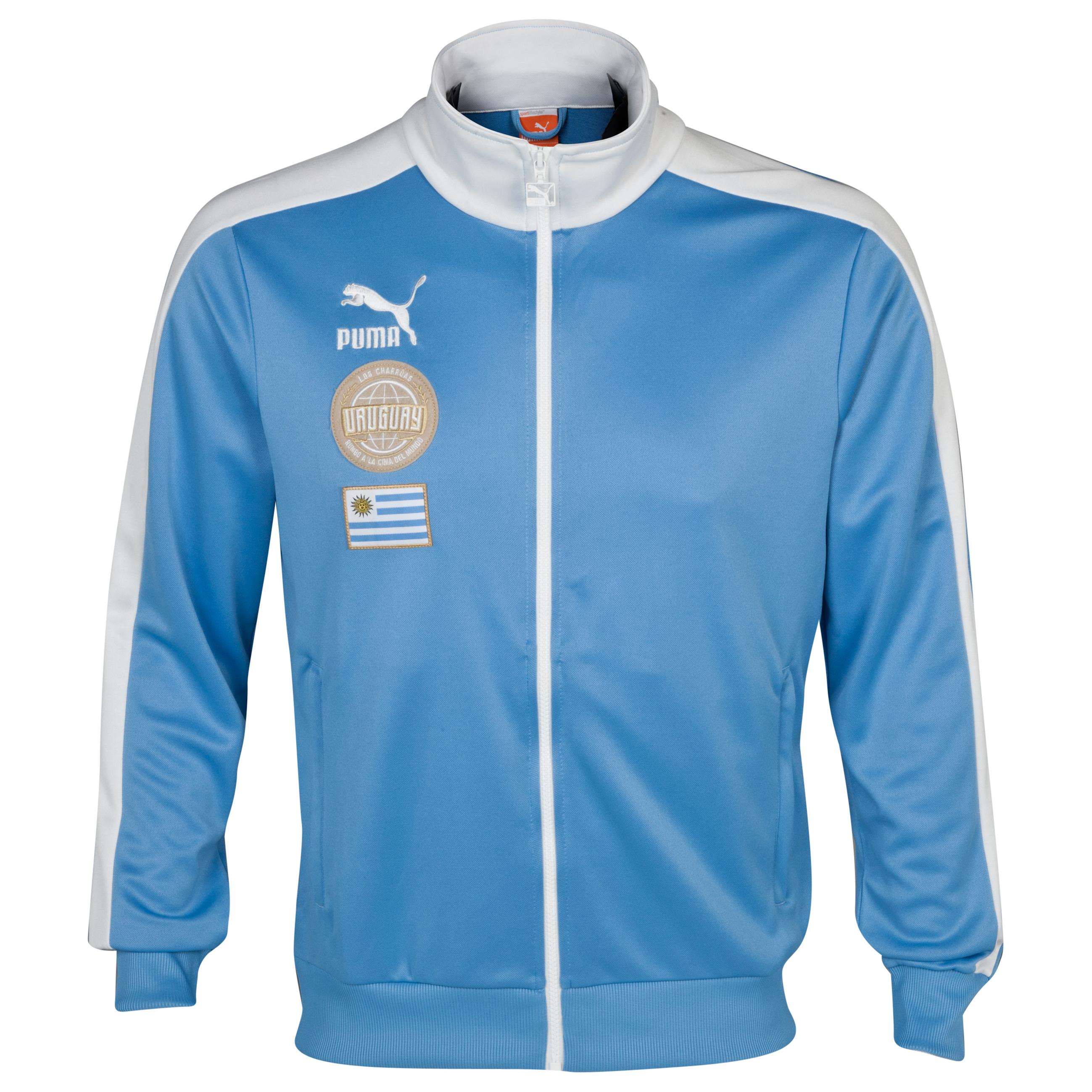 Puma FA T7 Track Jacket - Silver Lake Blue-AUF Uruguay
