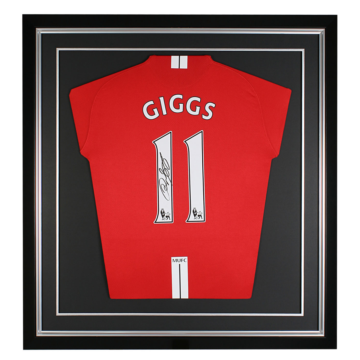 Ryan Giggs Signed Shirt - 29 x 27 Inch