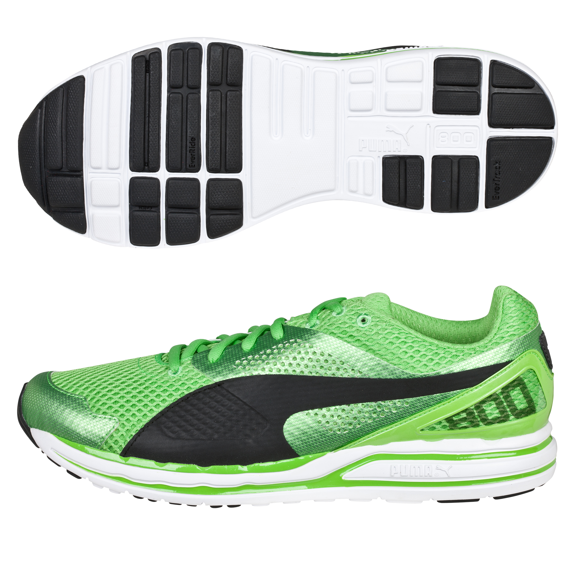Puma Faas 800 S - Jasmine Green/Black White