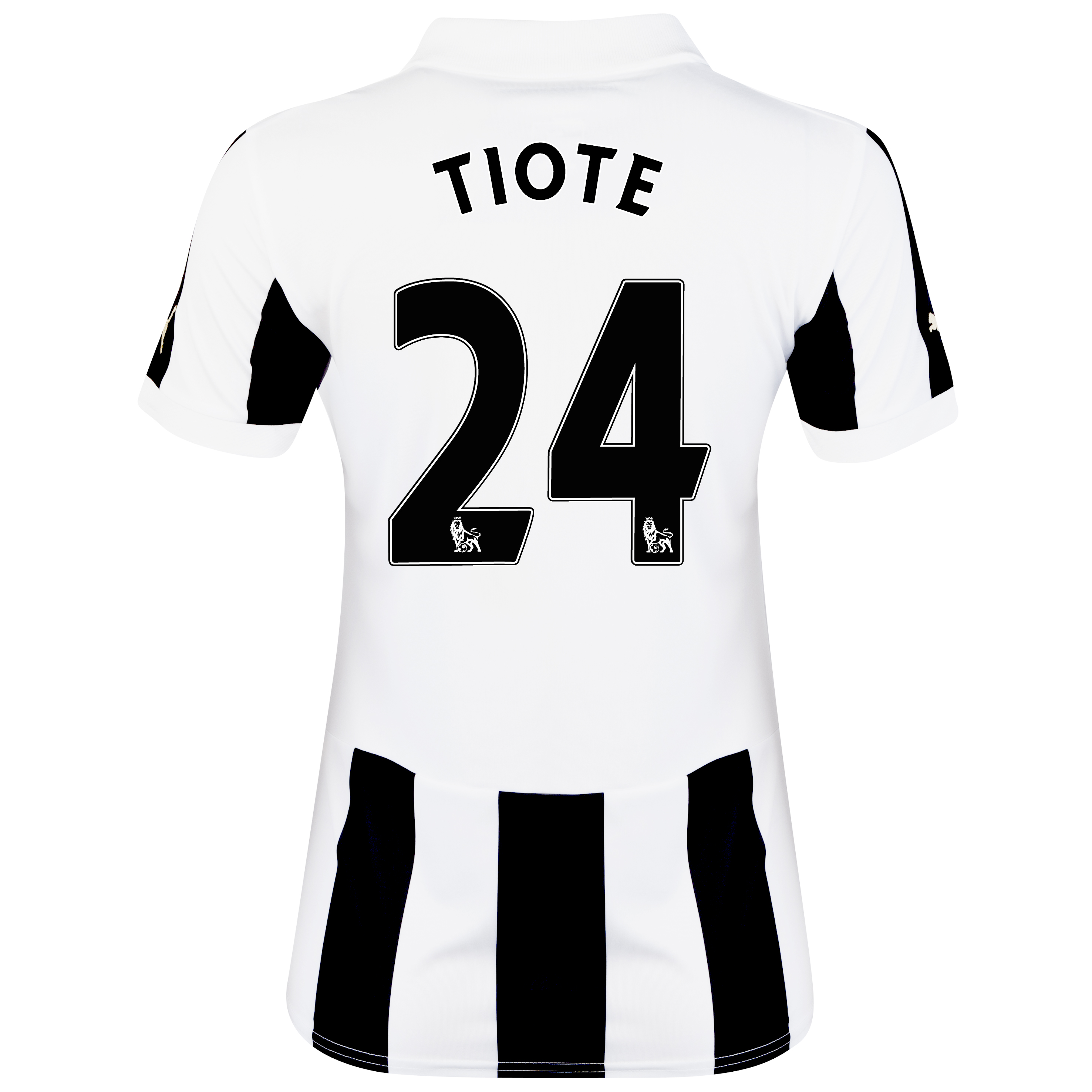 Newcastle United Home Shirt 2012/13 - Womens with Tiote 24 printing
