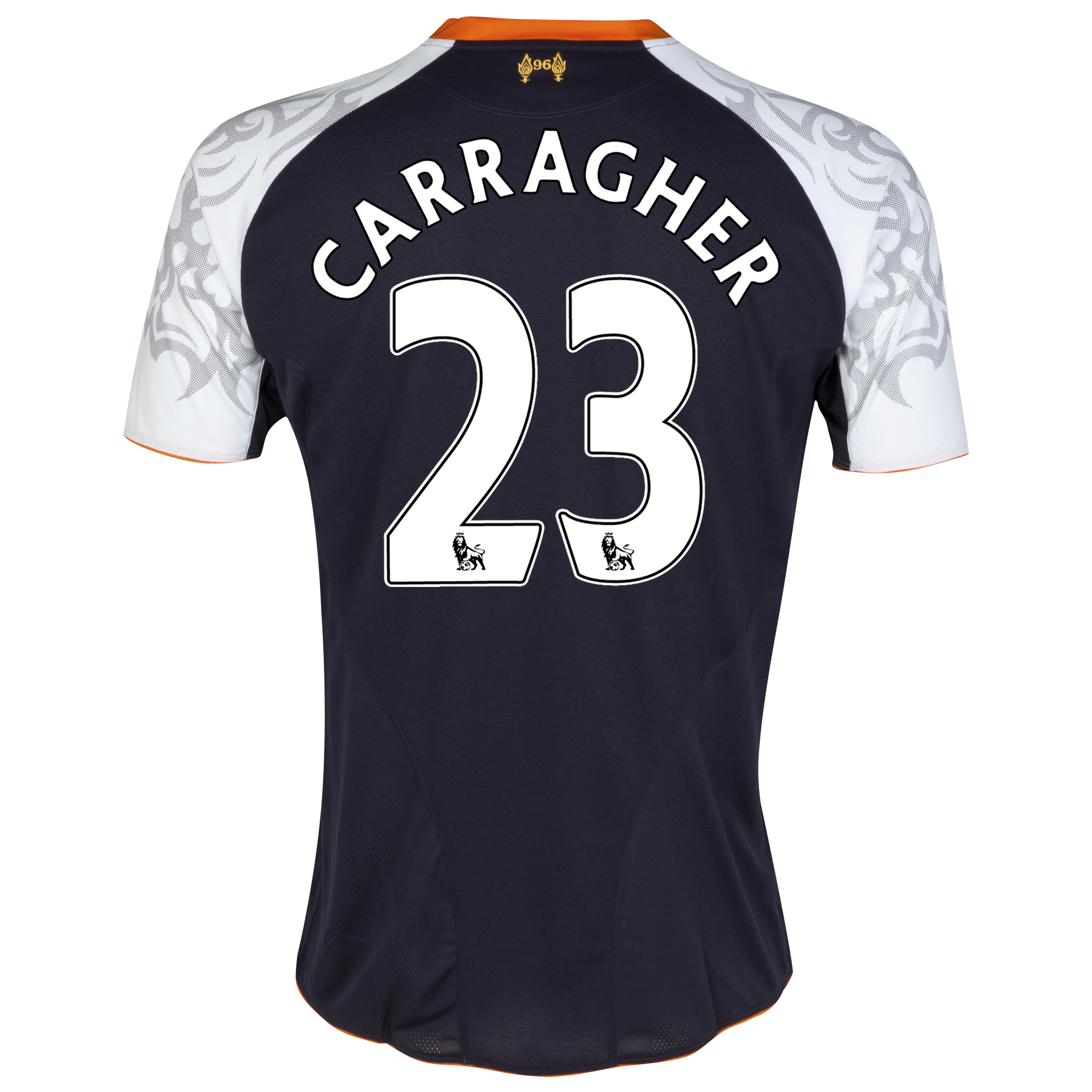 Liverpool Third Shirt 2012/13 with Carragher 23 printing