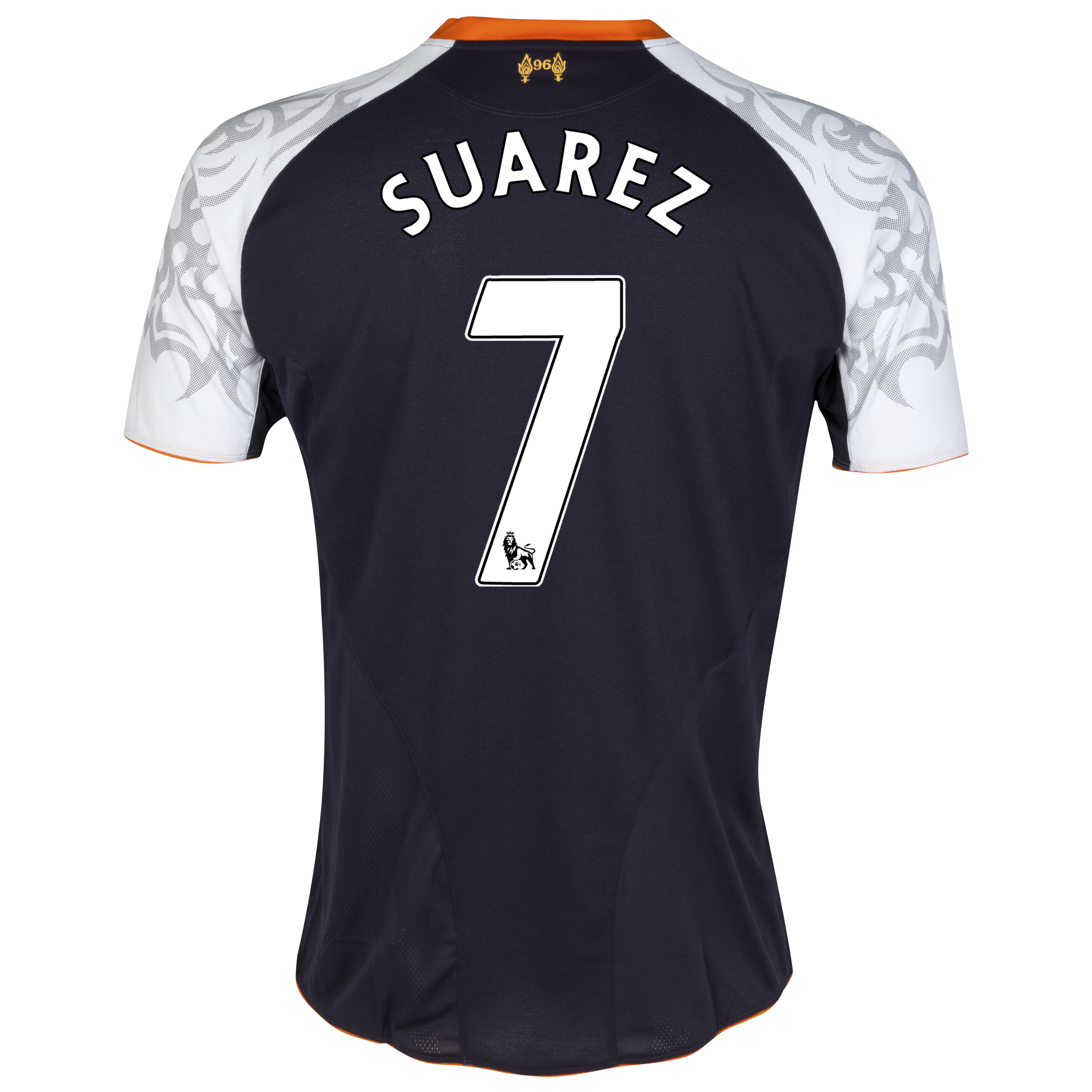 Liverpool Third Shirt 2012/13 - Kids with Suarez 7 printing