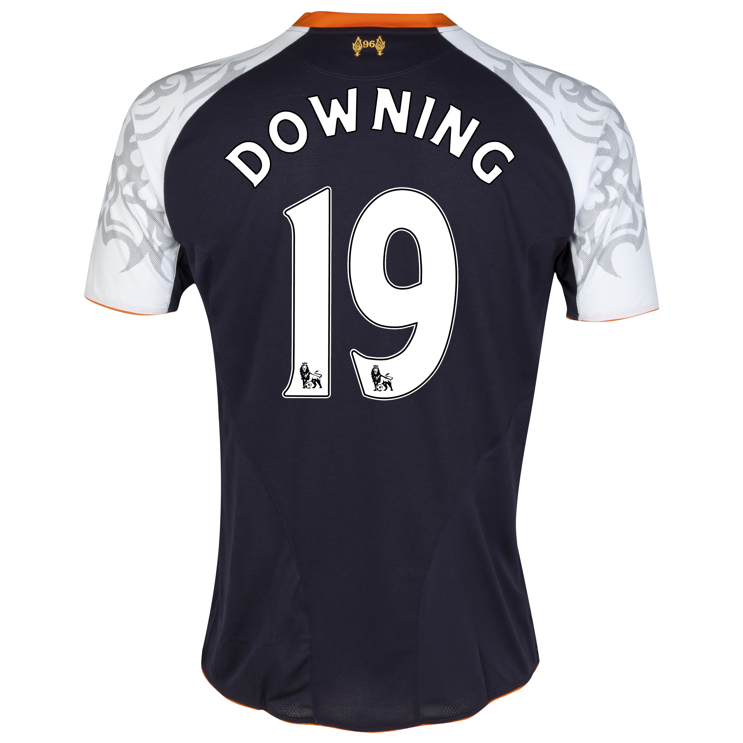 Liverpool Third Shirt 2012/13 - Kids with Downing 19 printing