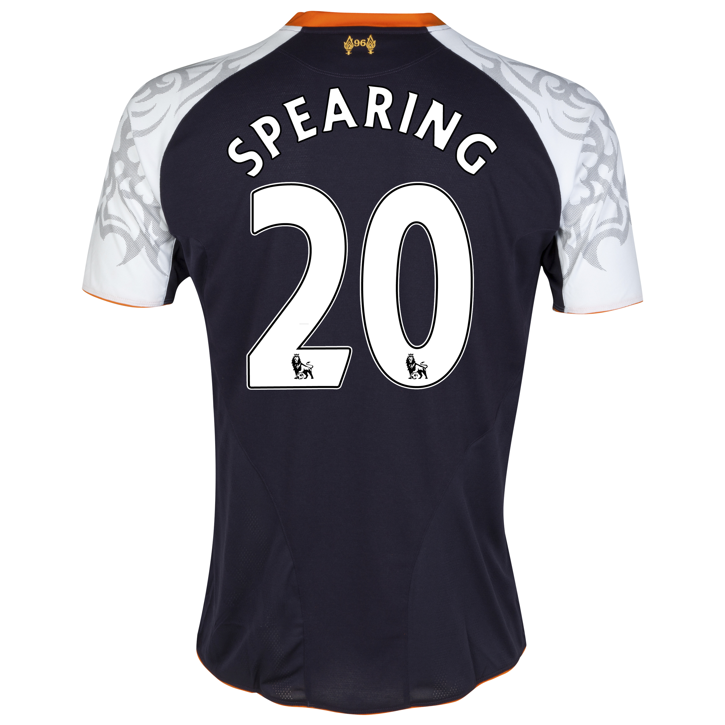 Liverpool Third Shirt 2012/13 - Kids with Spearing 20 printing