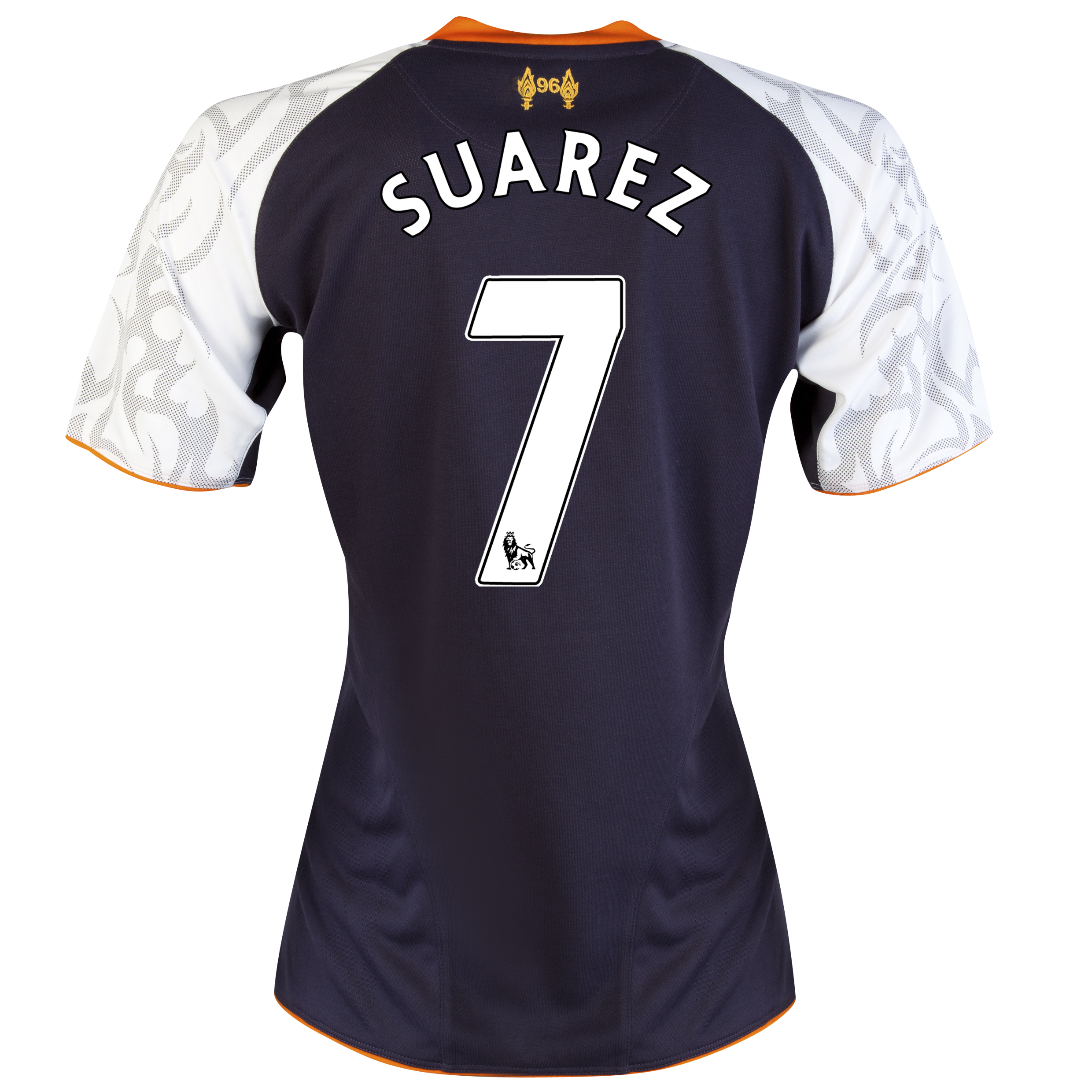 Liverpool Third Shirt 2012/13 - Womens with Suarez 7 printing