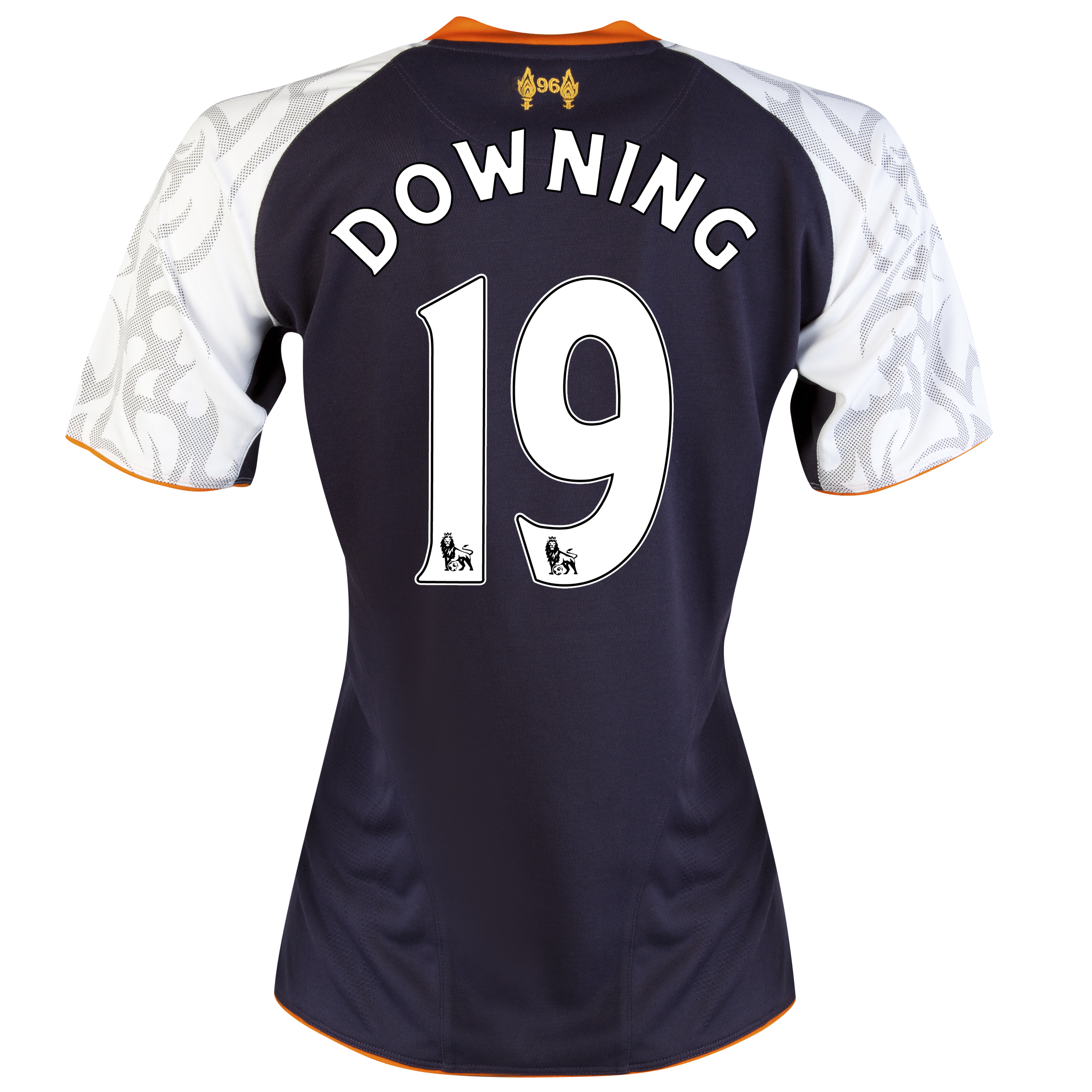 Liverpool Third Shirt 2012/13 - Womens with Downing 19 printing
