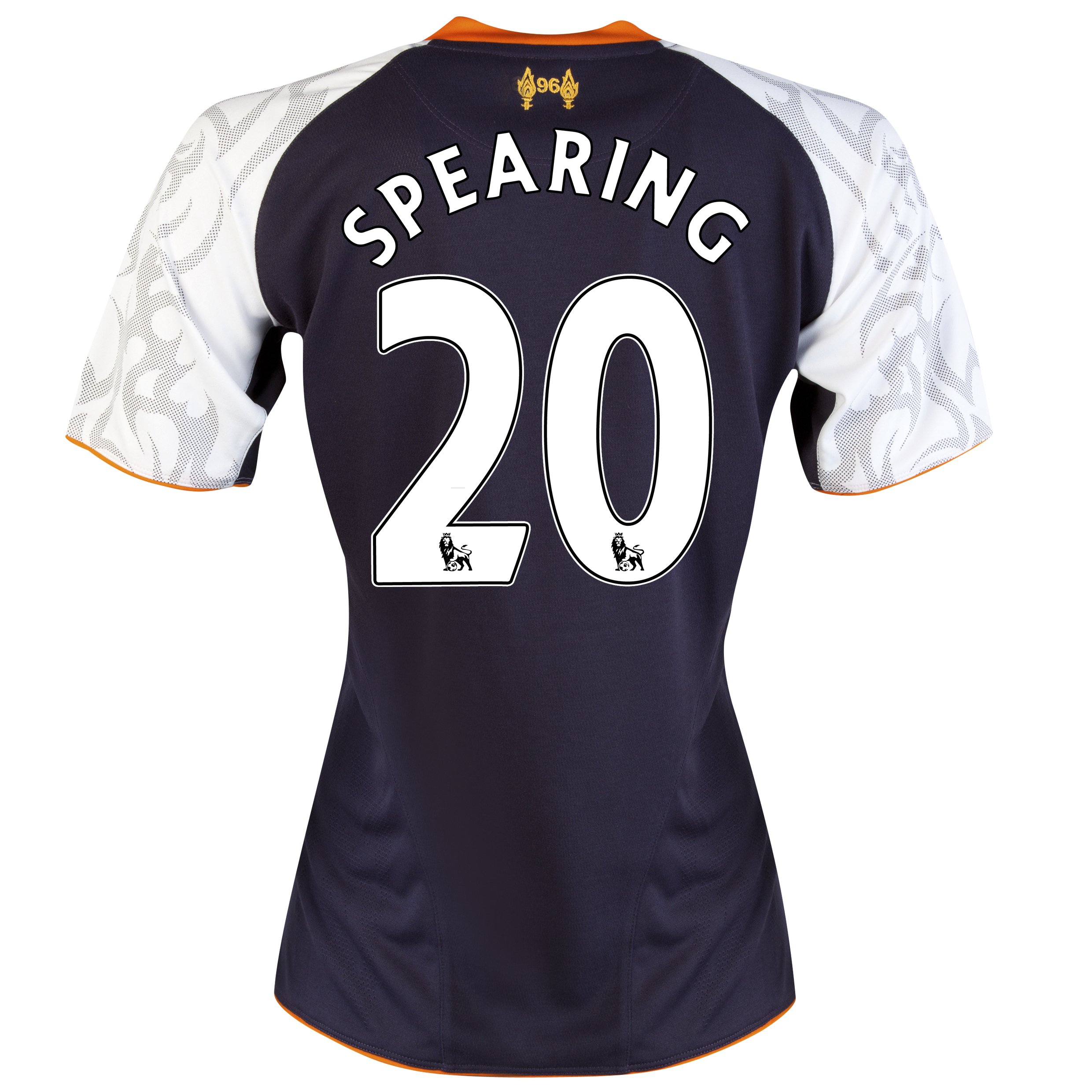 Liverpool Third Shirt 2012/13 - Womens with Spearing 20 printing