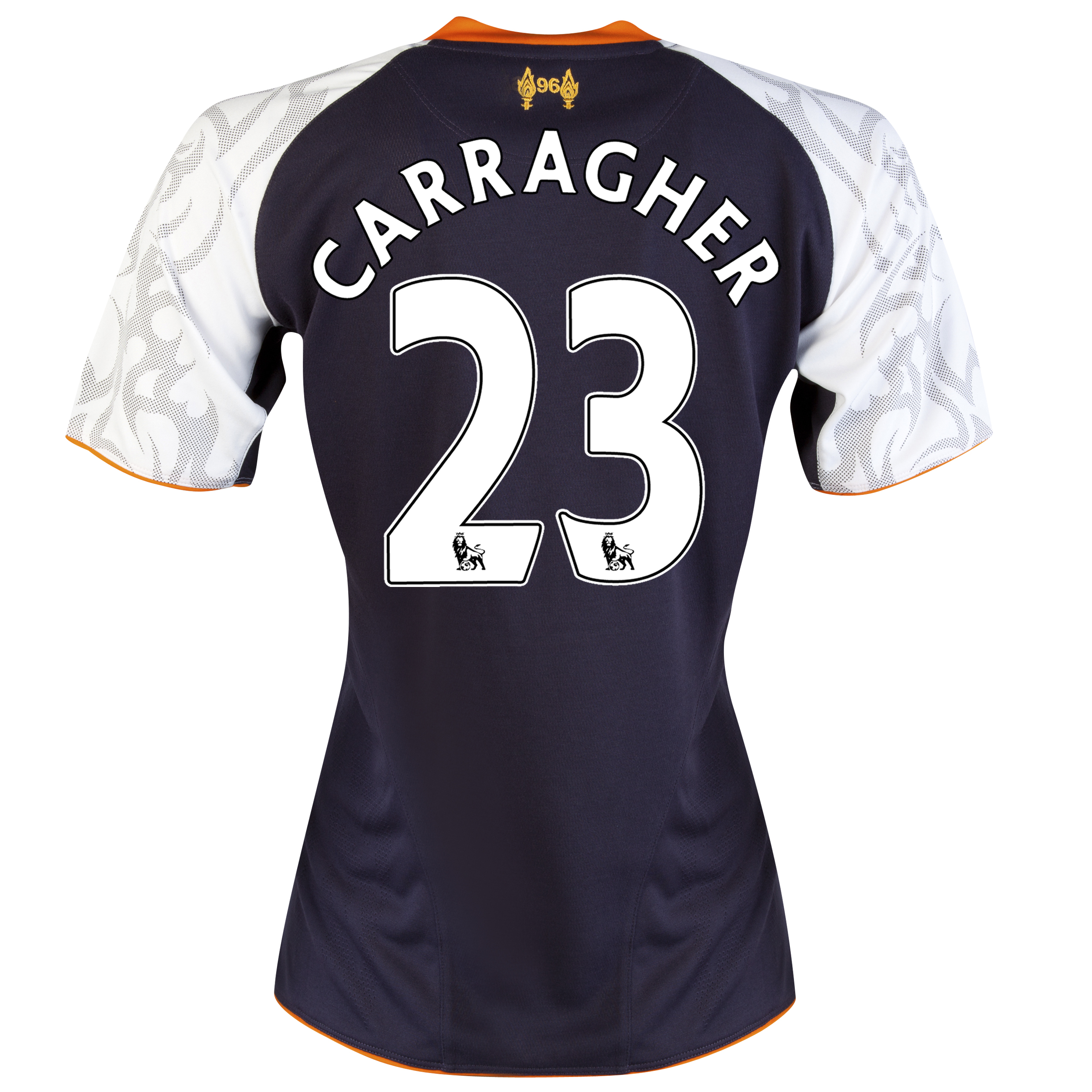 Liverpool Third Shirt 2012/13 - Womens with Carragher 23 printing