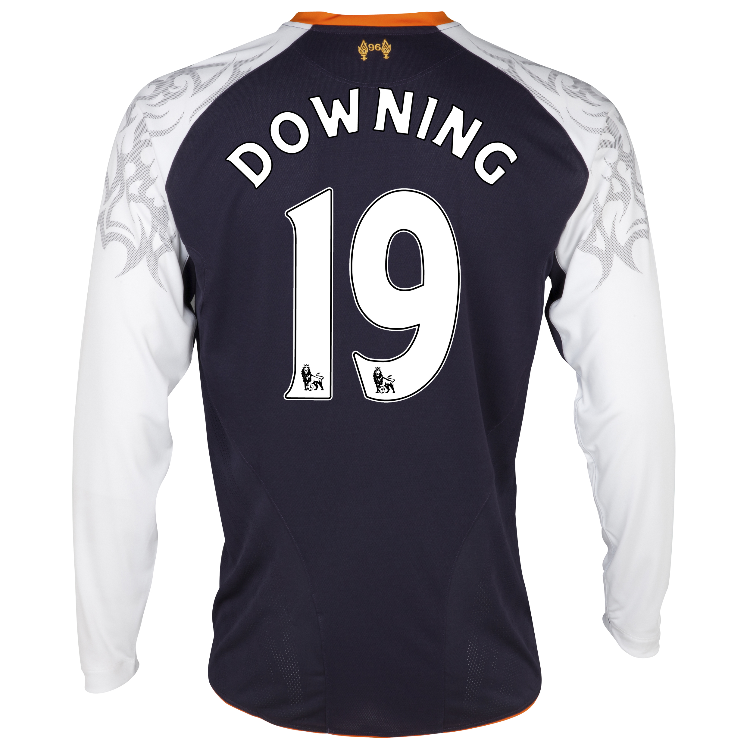 Liverpool Third Shirt 2012/13 - Long Sleeve - Youths with Downing 19 printing