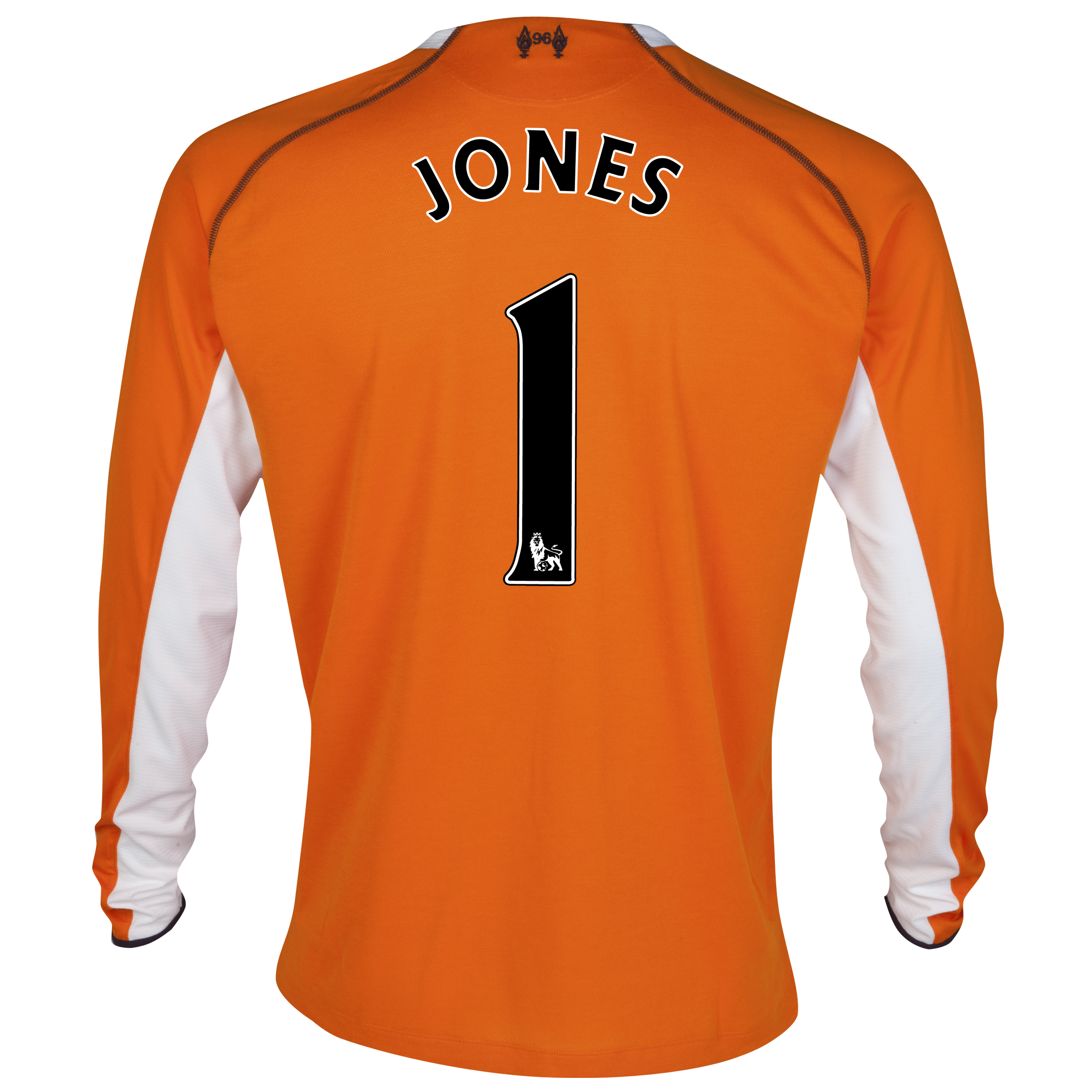 Liverpool Third Goalkeeper Shirt 2012/13 with Jones 1 printing