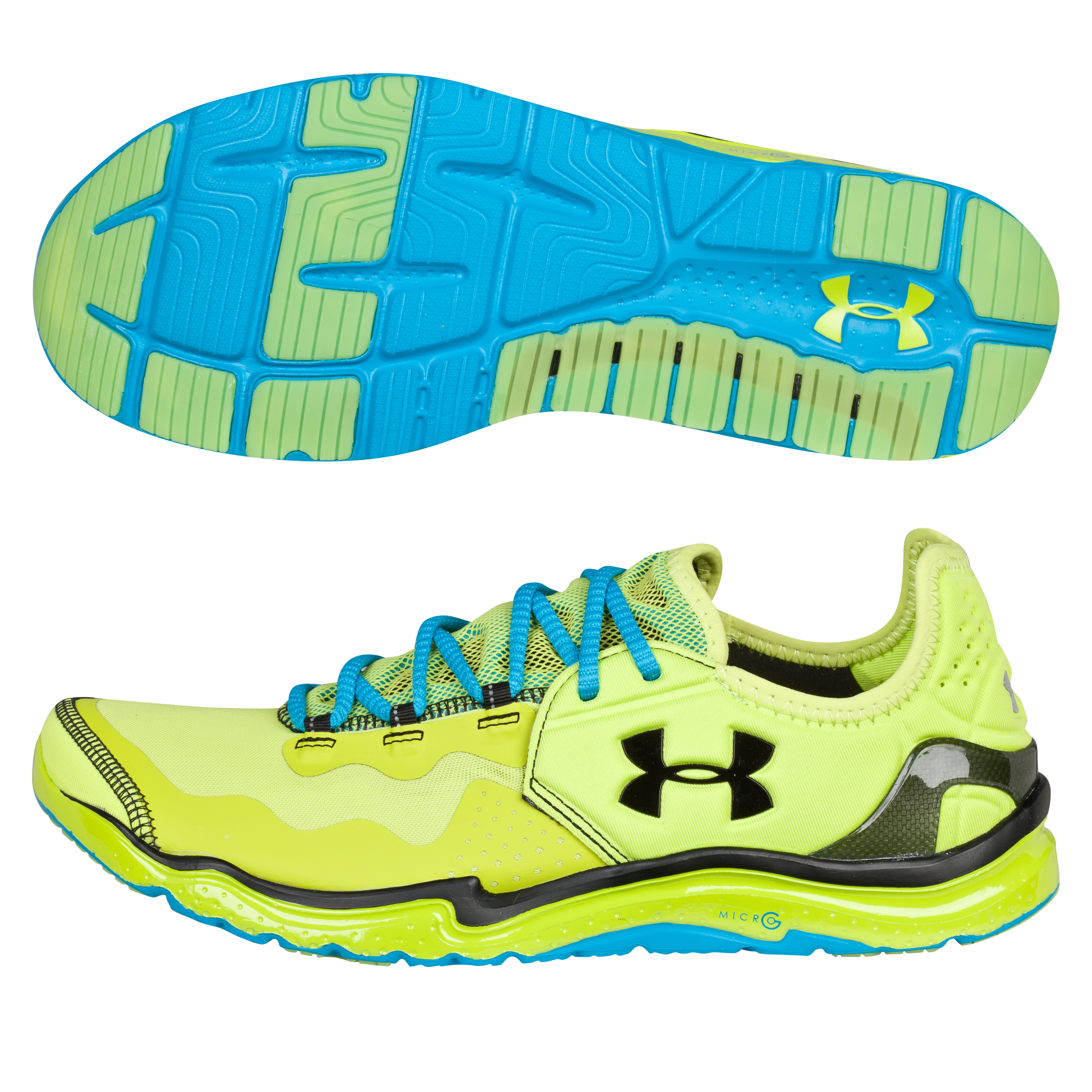 Under Armour Charge RC 2 Trainer- Bitter Lime/Blue