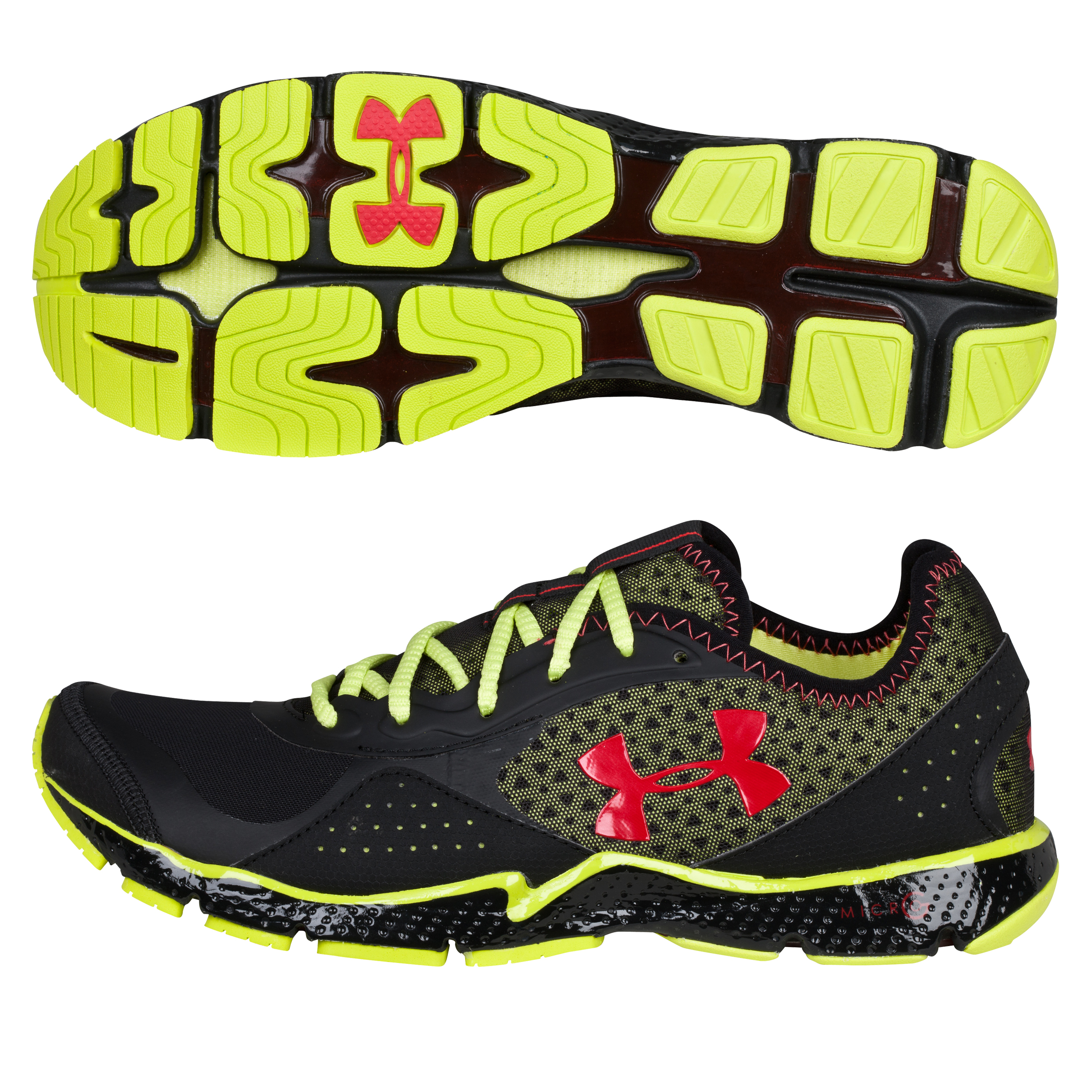 Under Armour FTHR Shield Trainer - Black/Bitter Lime/Red