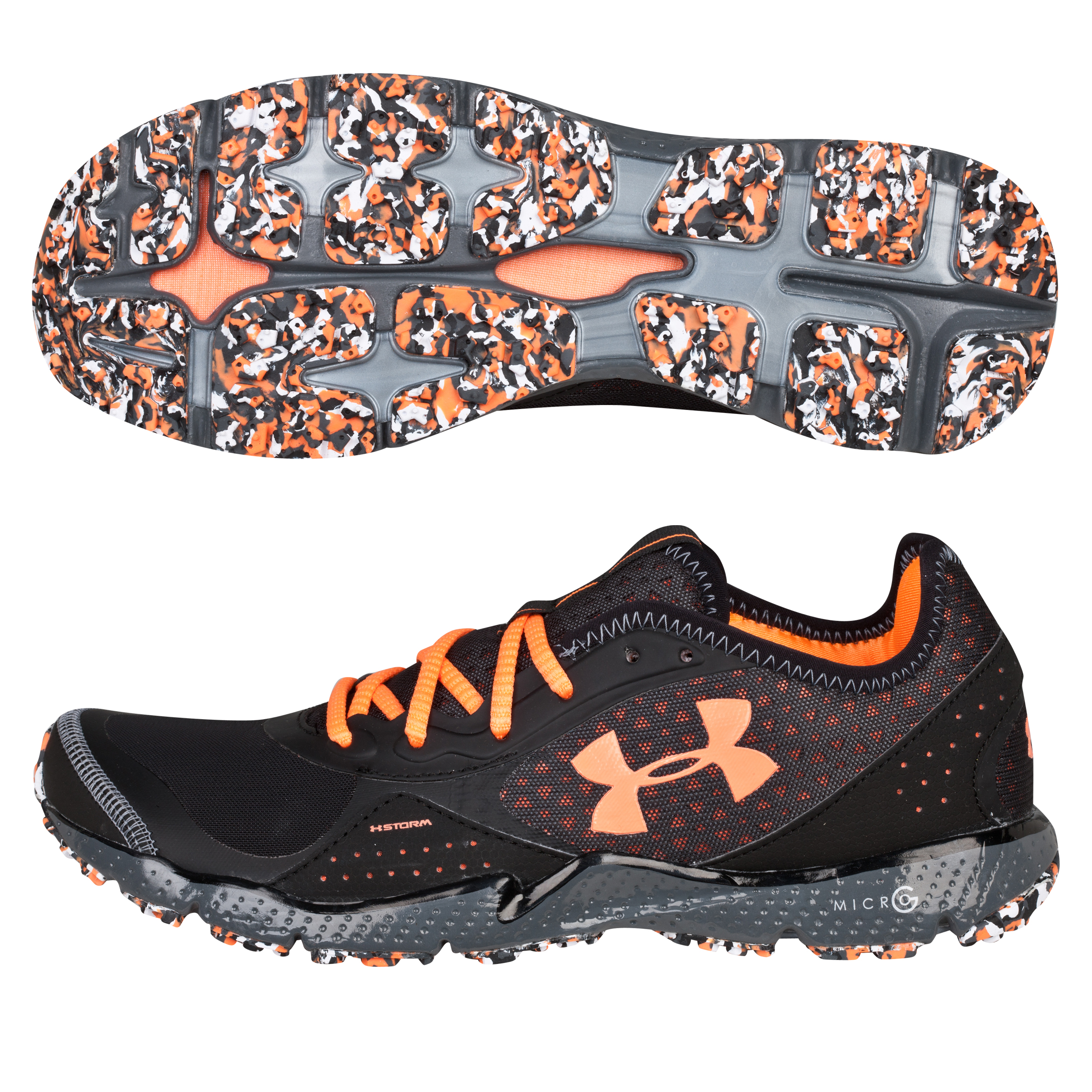 Under Armour FTHR Shield TR  Trainer- Black Charcoal/Orange