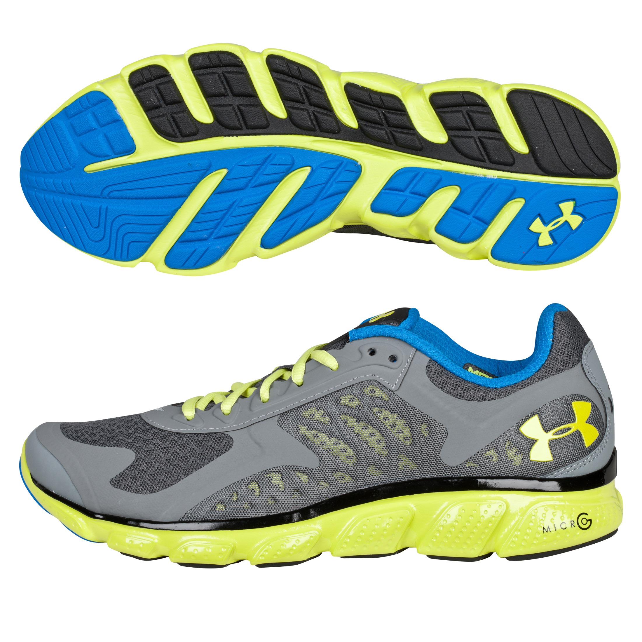 Under Armour ARMR Skulpt Trainer - Charcoal/Snorkel Blue/Lime