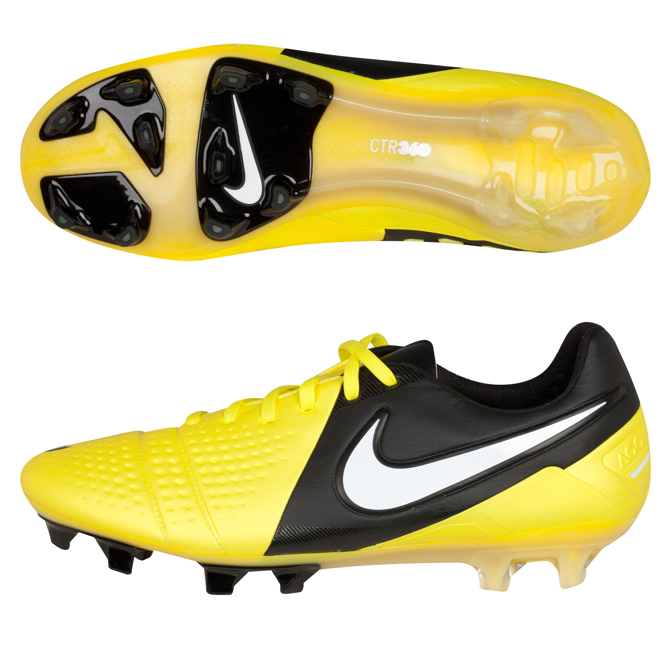 Nike CTR360 Maestri III Firm Ground Football Boots - Sonic Yellow/White/Black