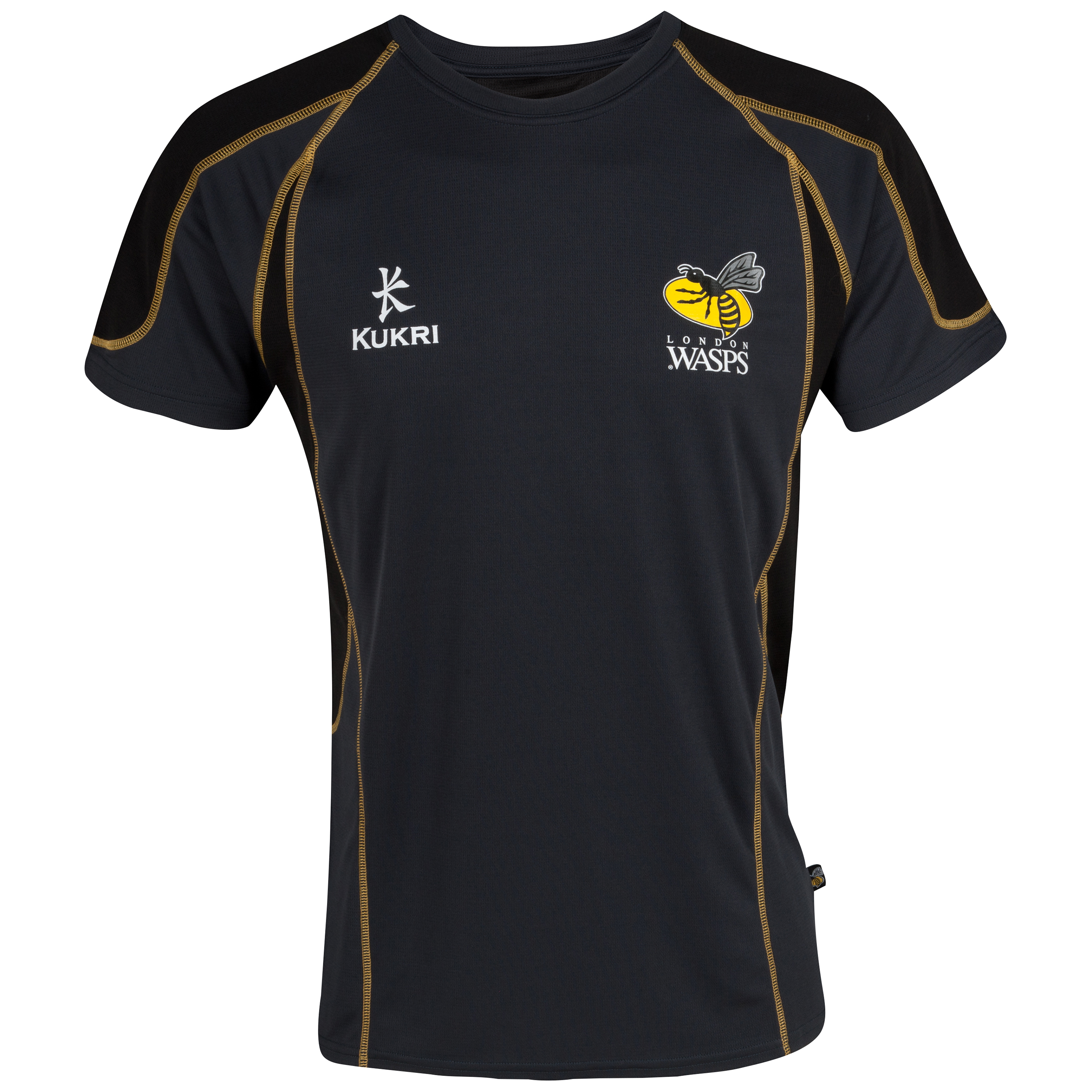 Wasps Performance T-Shirt - Black