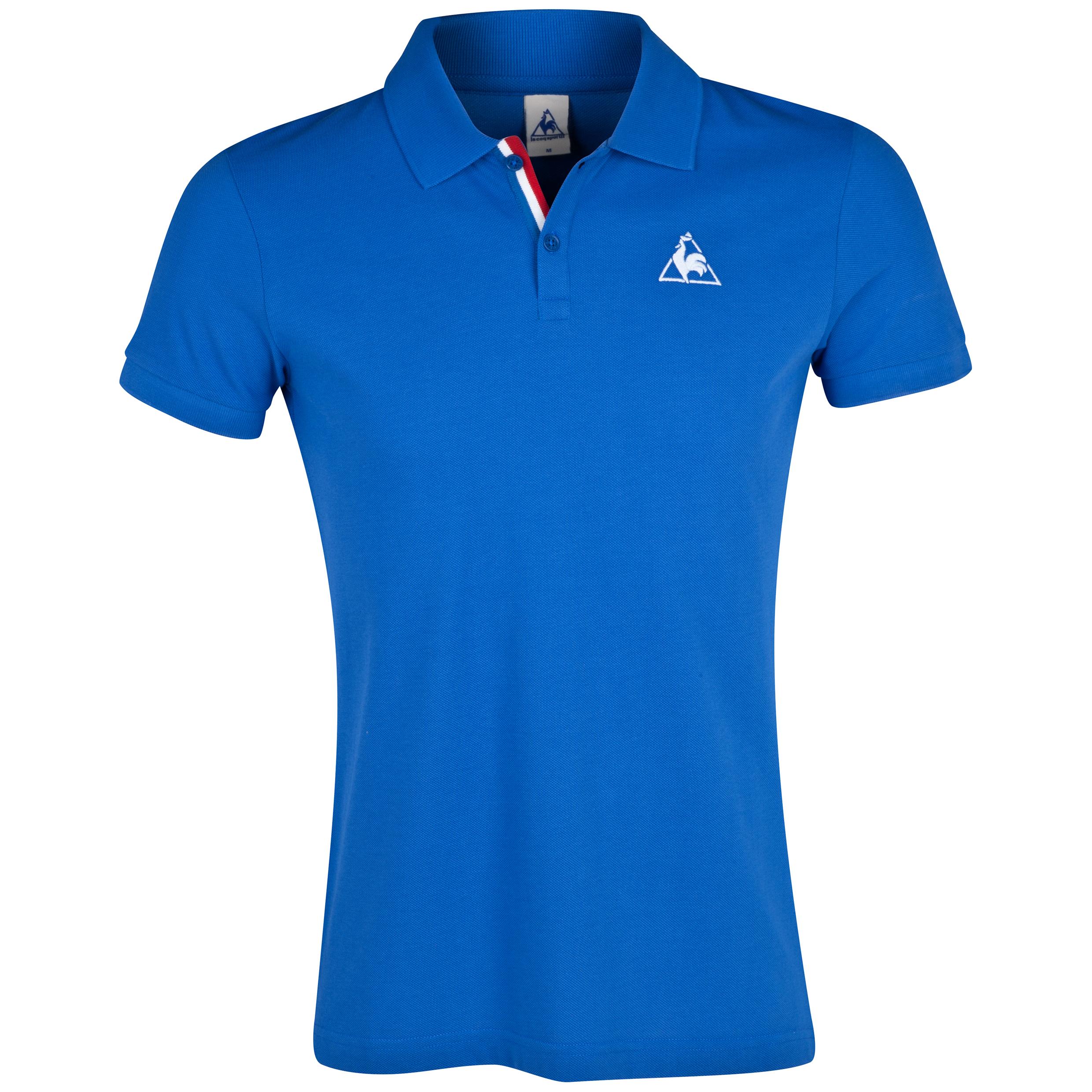 Le Coq Sportif Aspot Polo - Olympian Blue