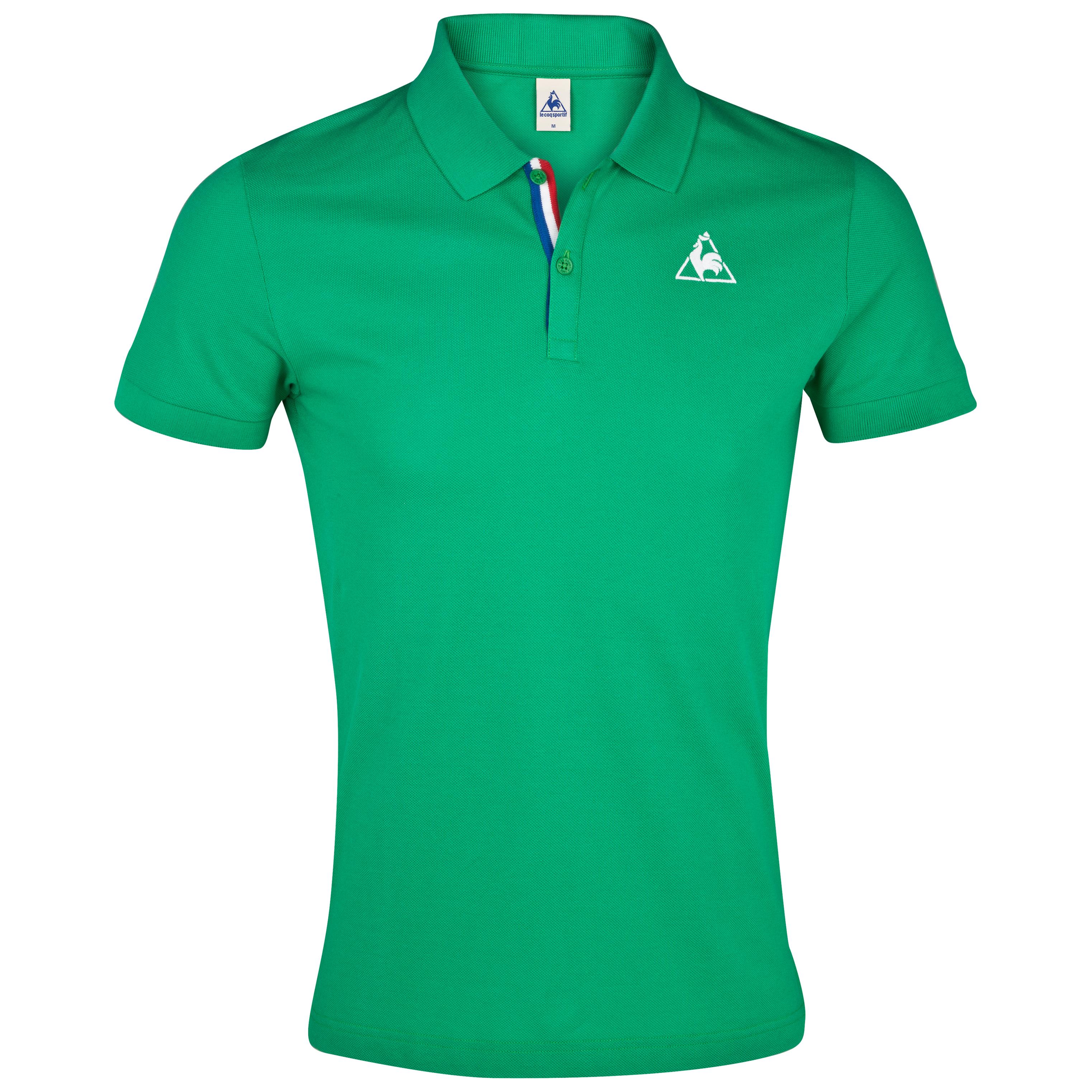 Le Coq Sportif Aspot Polo - Green St Etienne