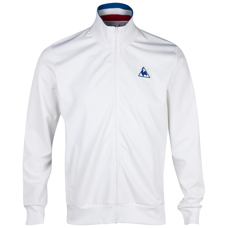 Le Coq Sportif Scorff TrackTop - White/Olympian Blue