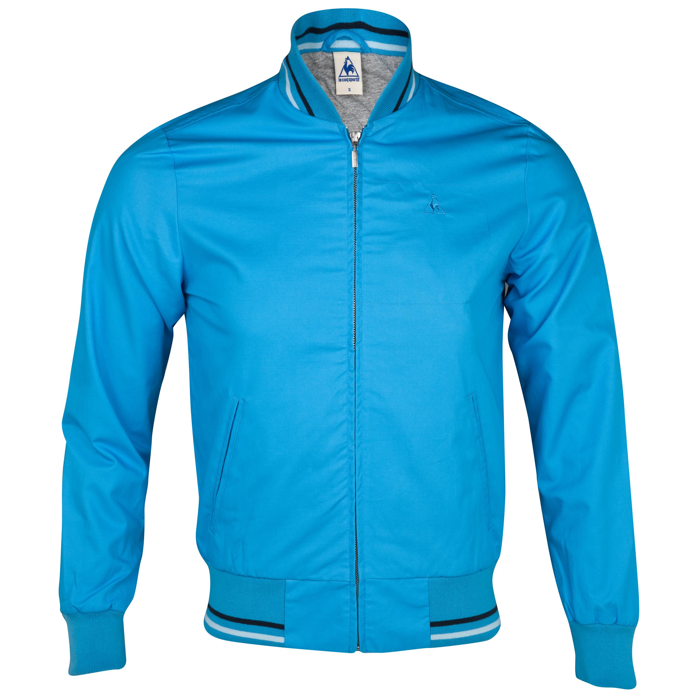 le coq sportif etze jacket malibu blue dot shops us. Black Bedroom Furniture Sets. Home Design Ideas