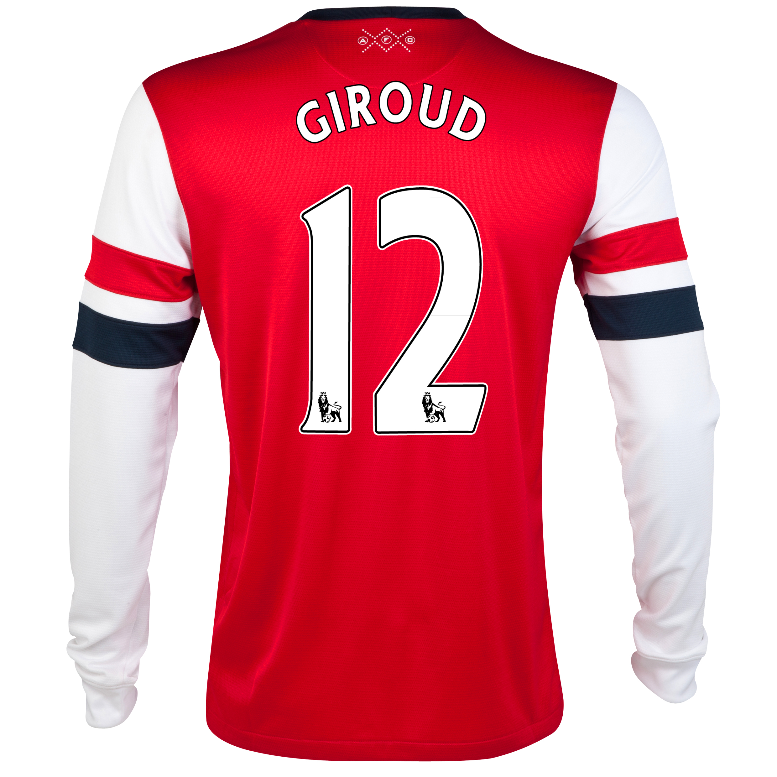 Arsenal Home Shirt 2012/14  - Long Sleeved - Kids with Giroud 12 printing