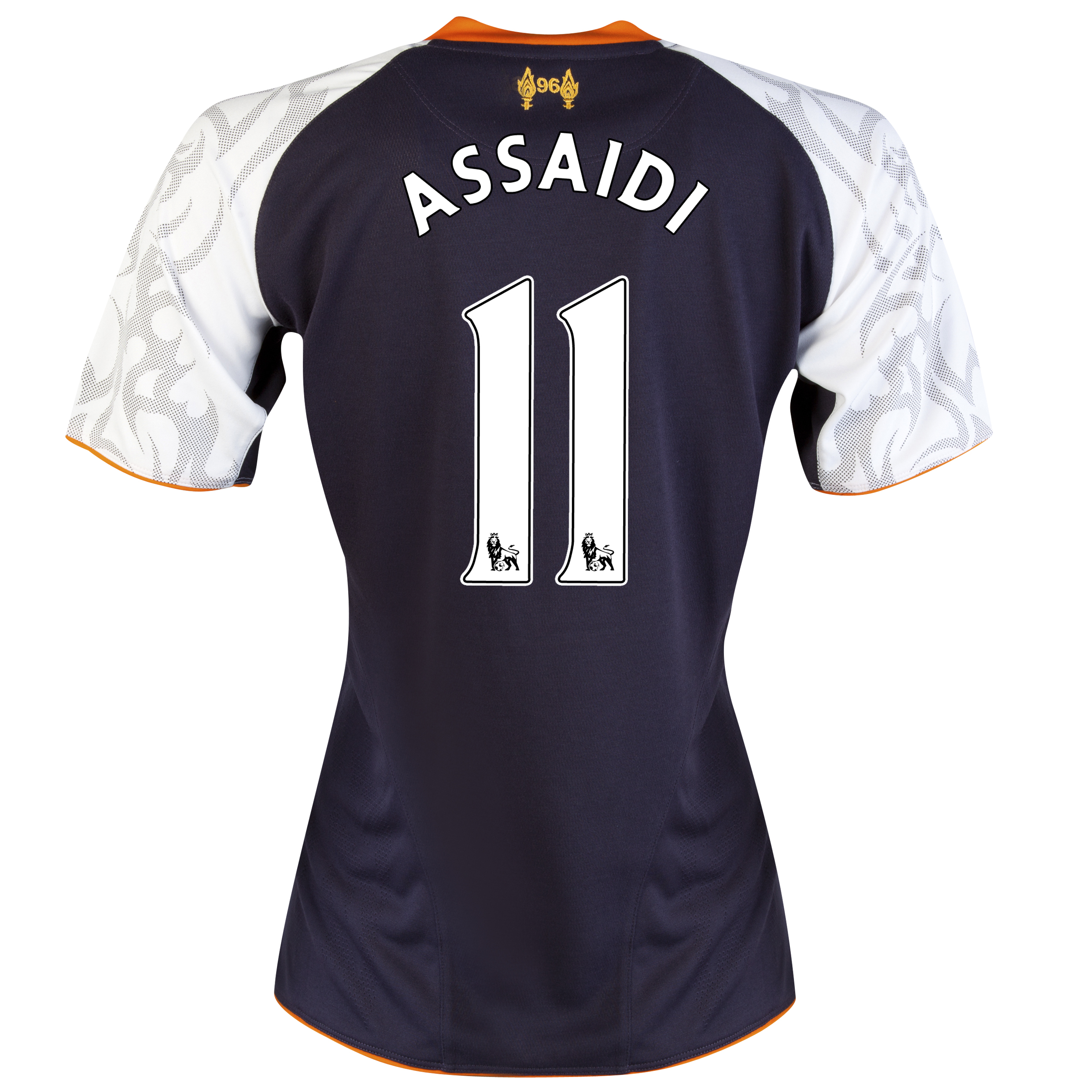 Liverpool Third Shirt 2012/13 - Womens with Assaidi 11 printing