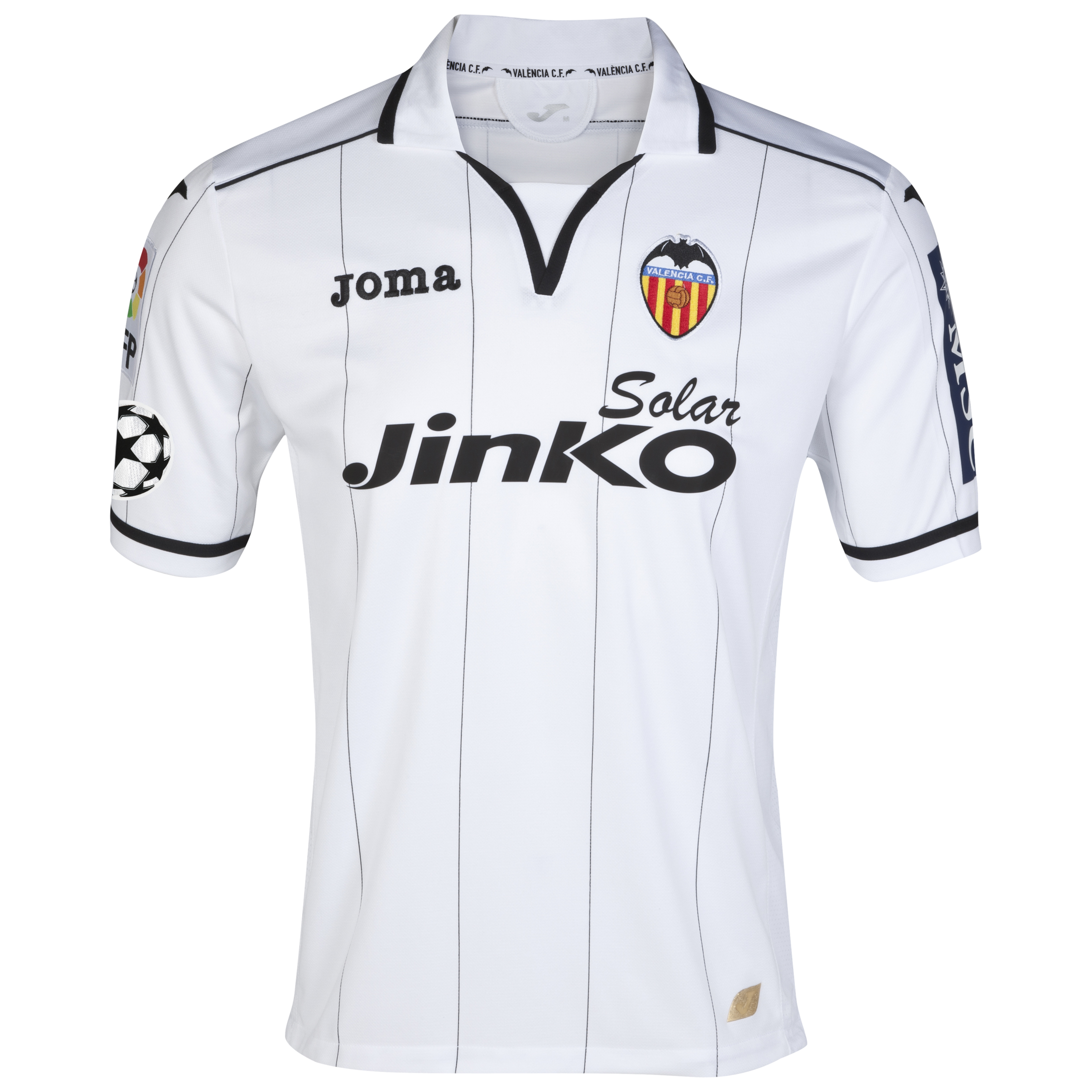 Valencia UEFA Champions League Home Shirt 2012/13