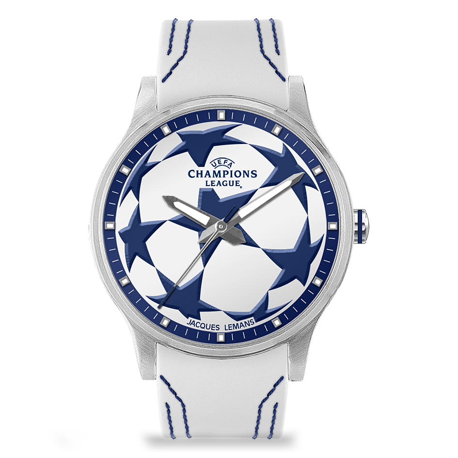 UEFA Champions League Watch - White/Blue