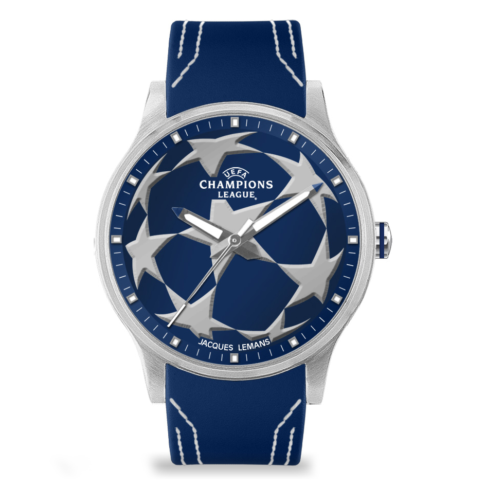 UEFA Champions League Watch - Blue/Silver