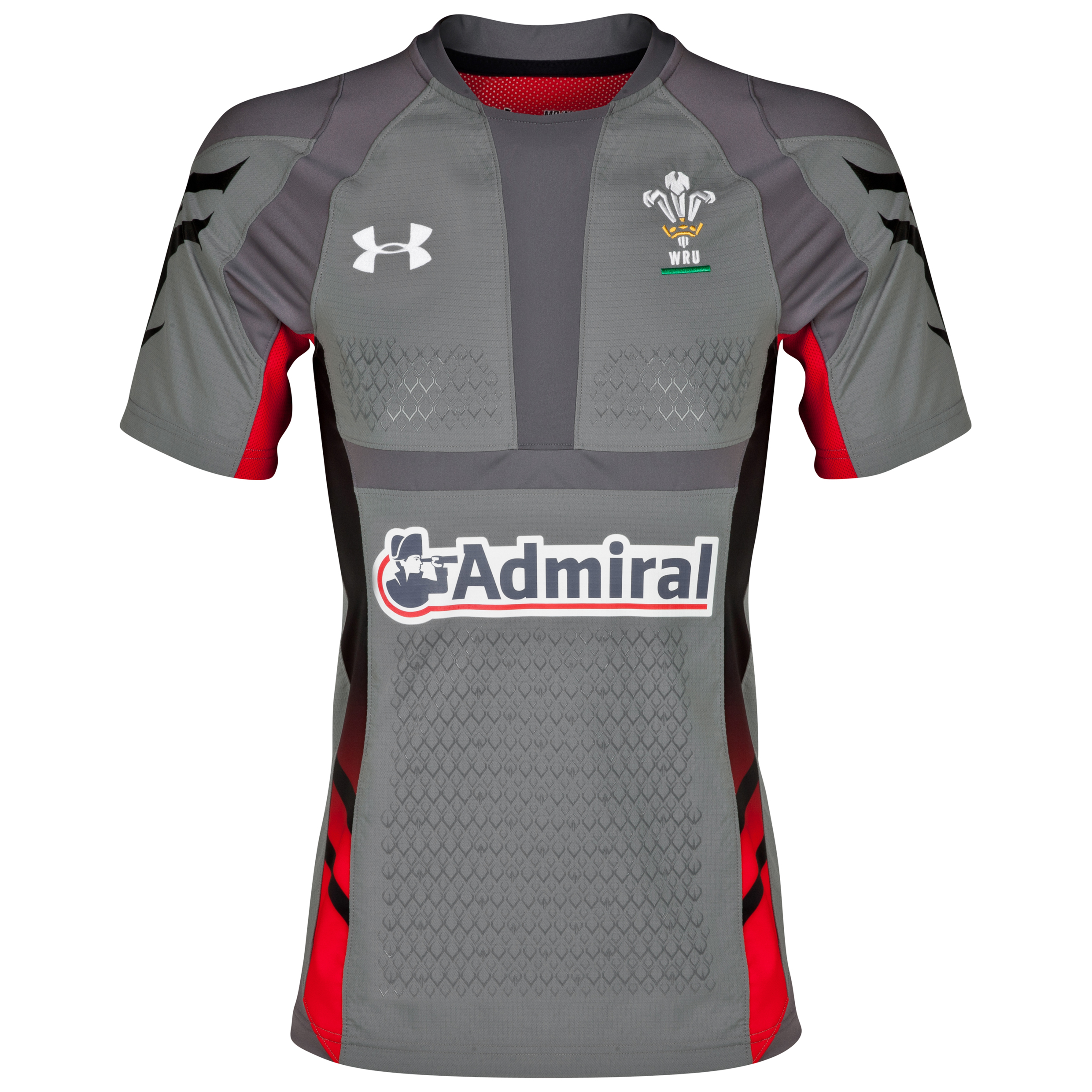 Wales Rugby Union Authentic Away Shirt 2013/15