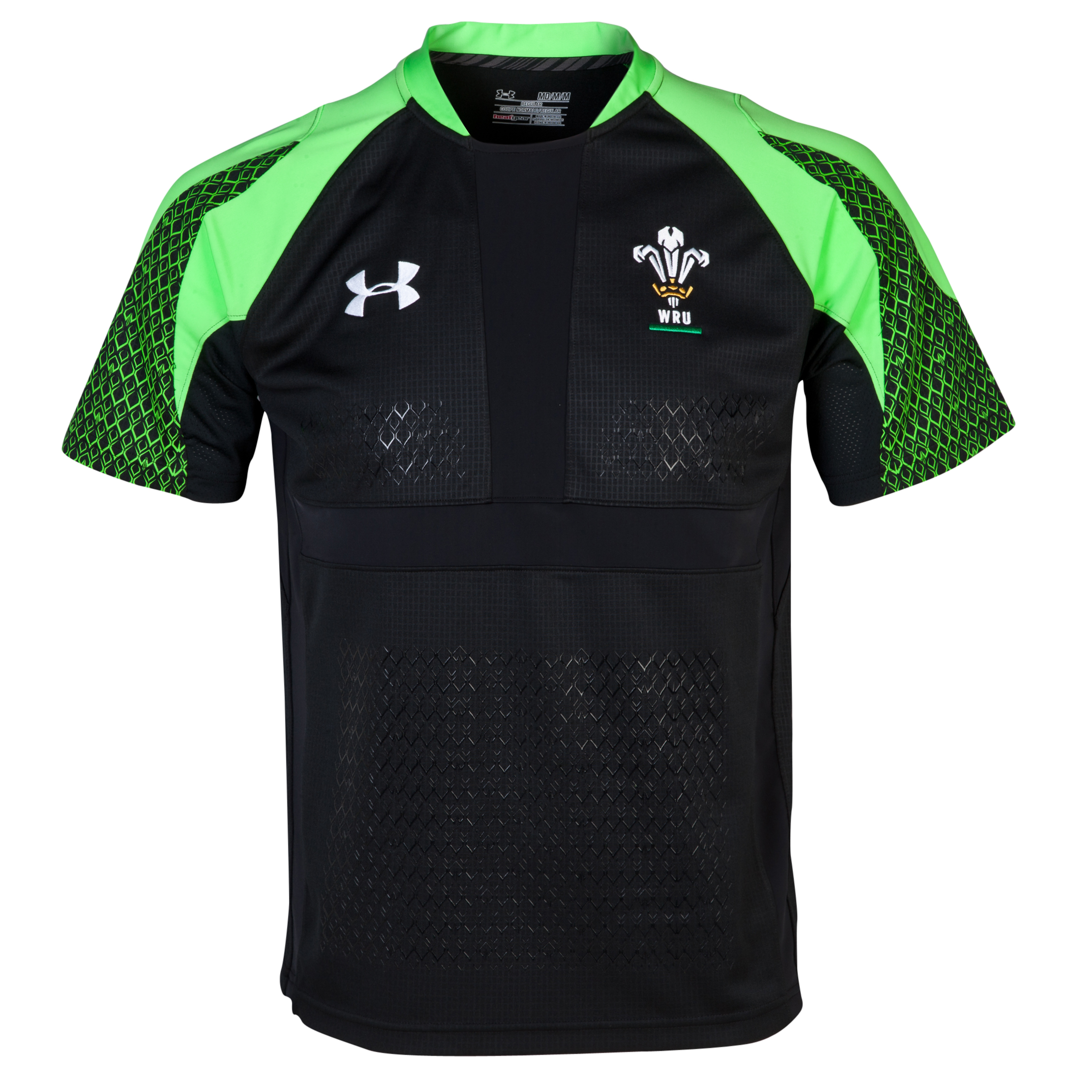 Wales Rugby Union Sevens Shirt 2013/15 - Black
