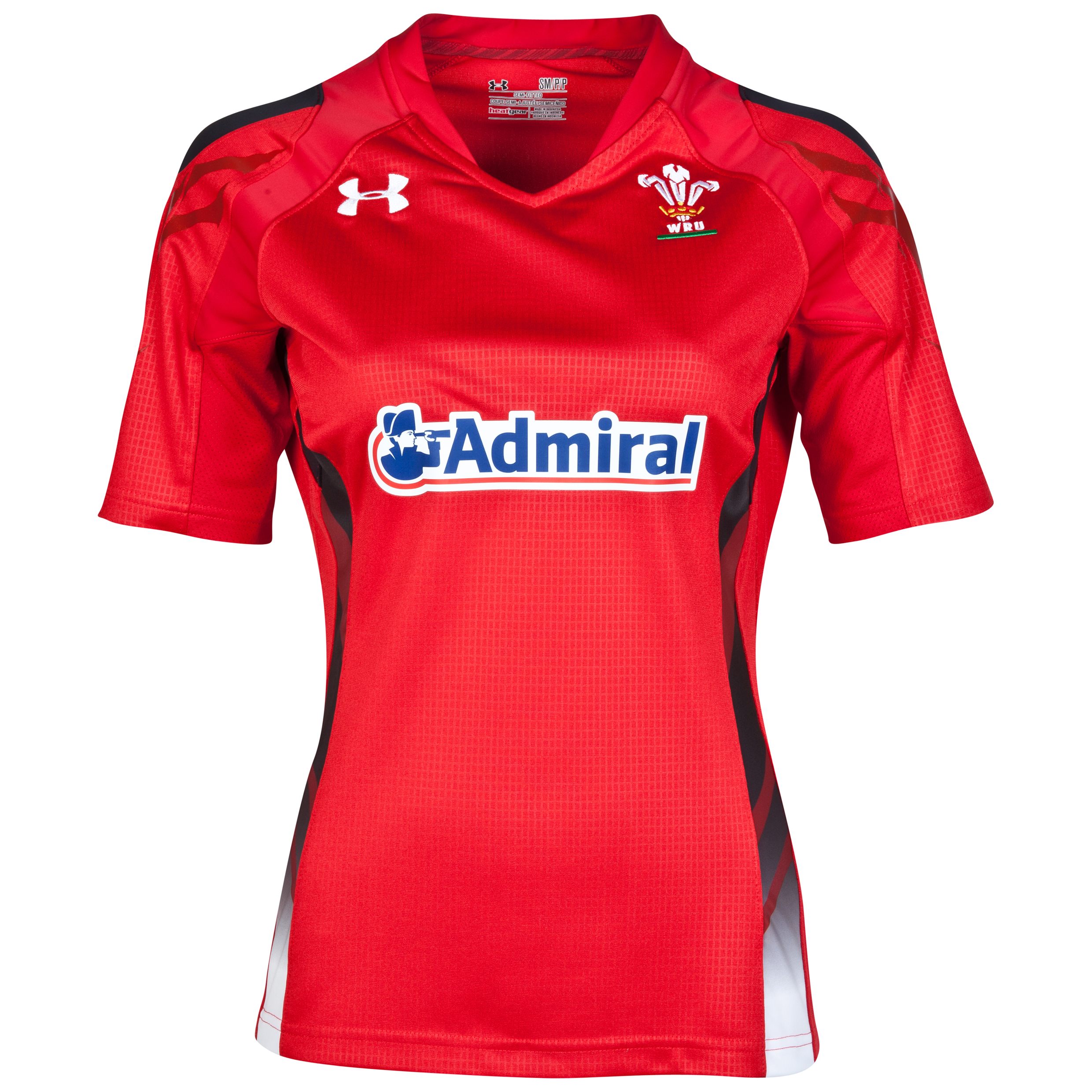 Wales Rugby Union Home Shirt 2013/15 - Womens