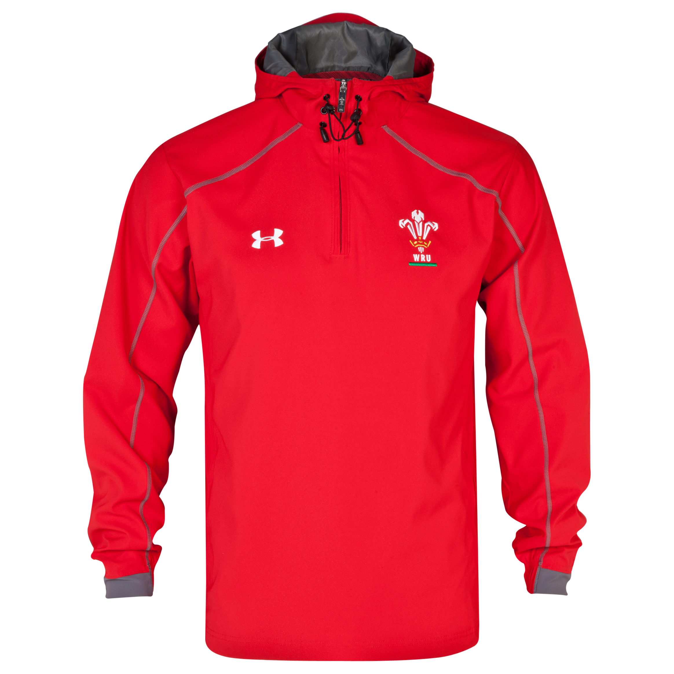 Wales Rugby Union Supporters Training Jacket - Red/Graphite