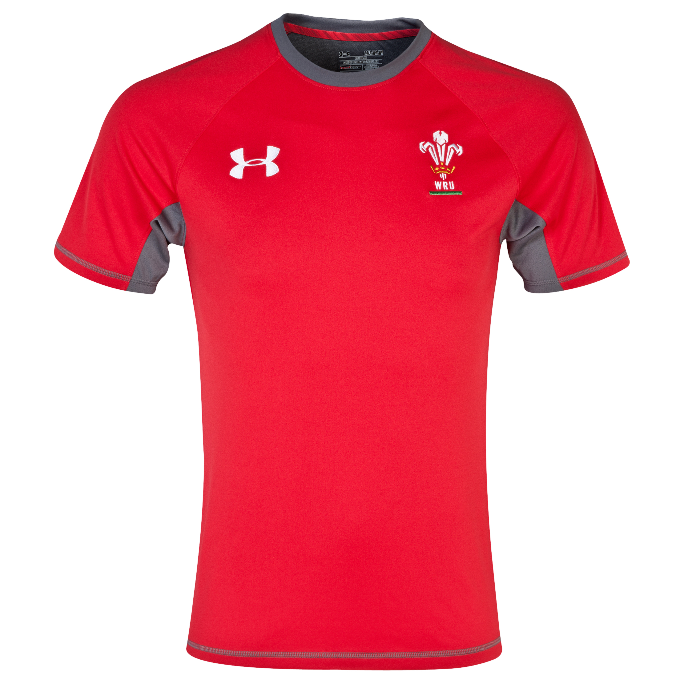 Wales Rugby Union Training T-Shirt 2013/15 - Red/White